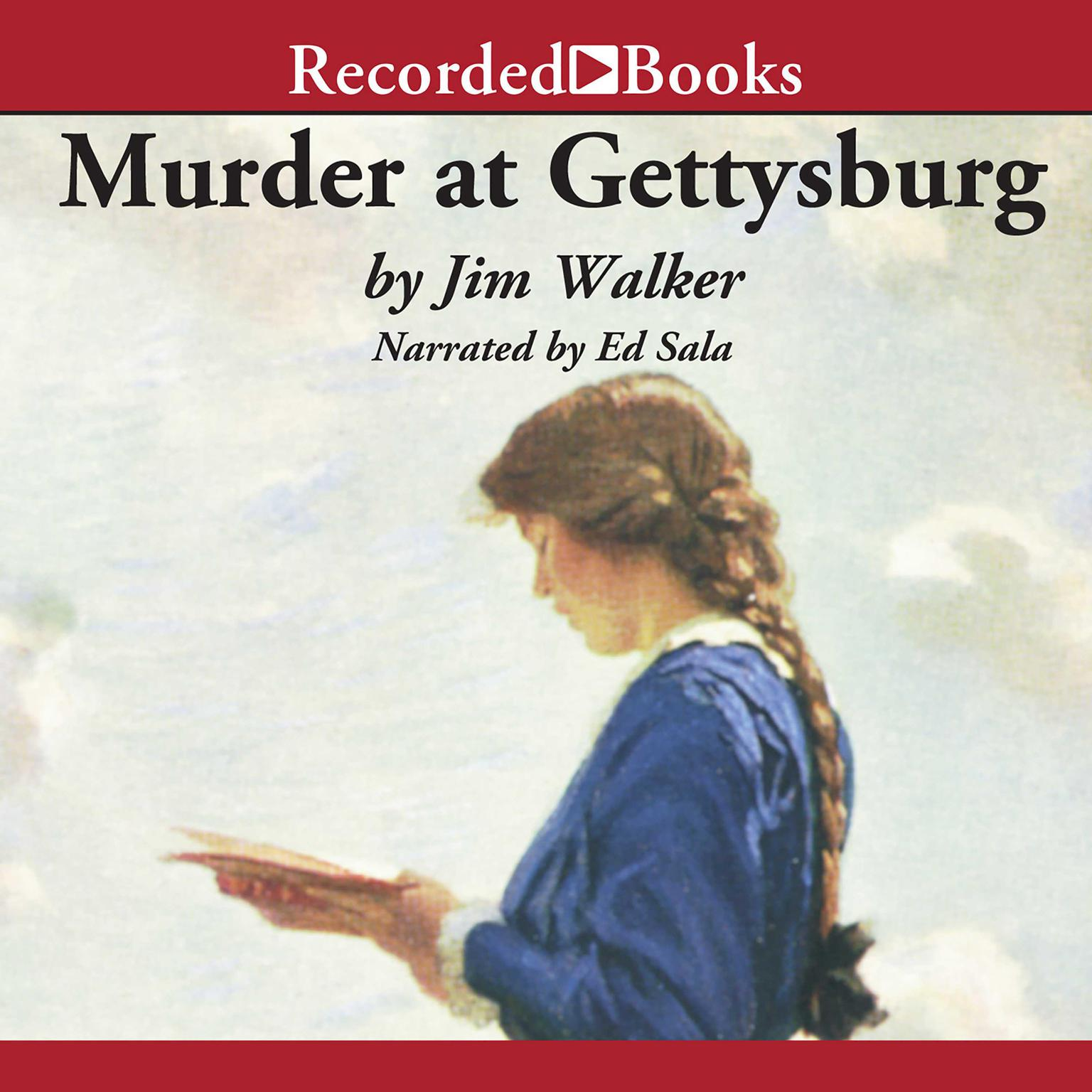 Printable Murder at Gettysburg Audiobook Cover Art