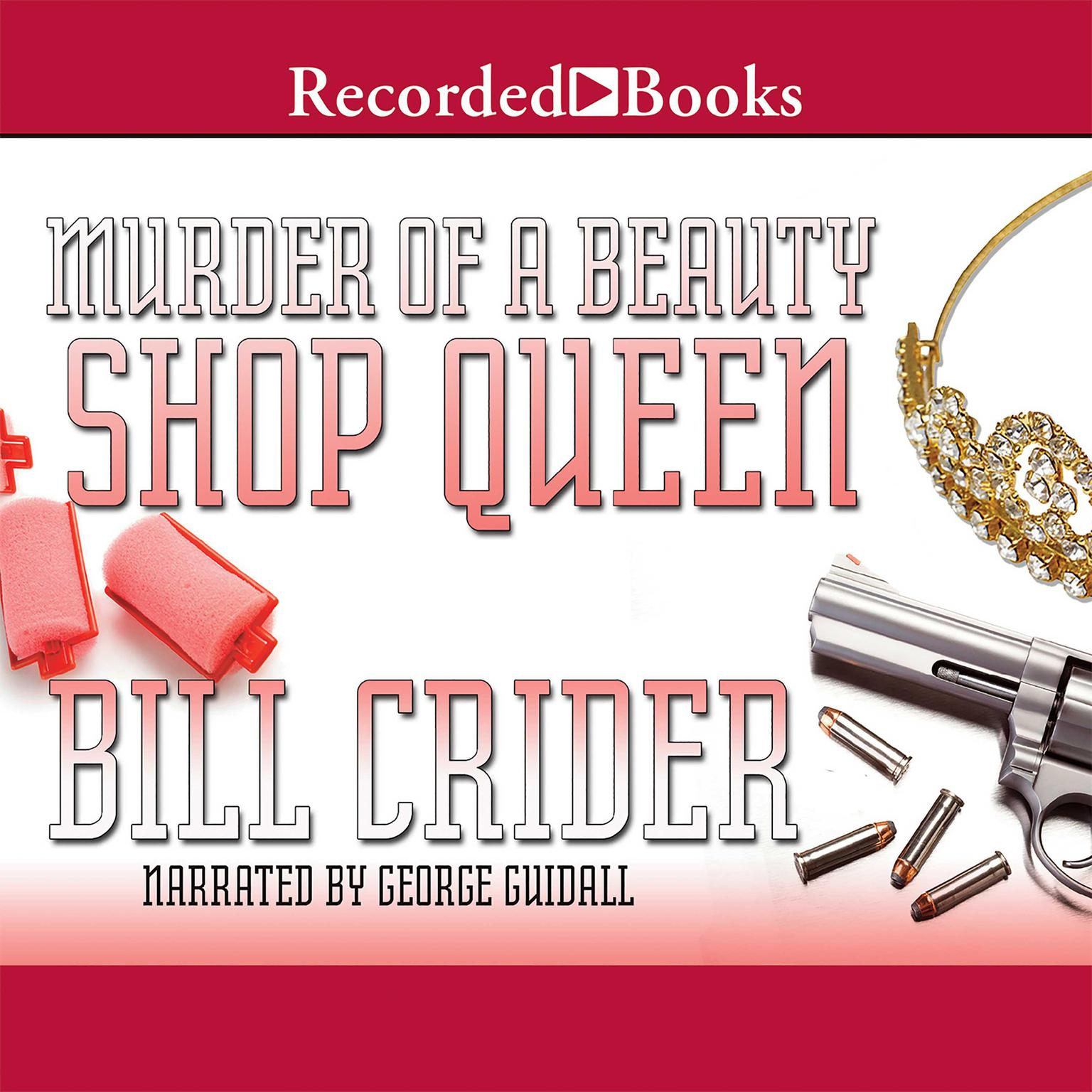 Printable Murder of a Beauty Shop Queen Audiobook Cover Art