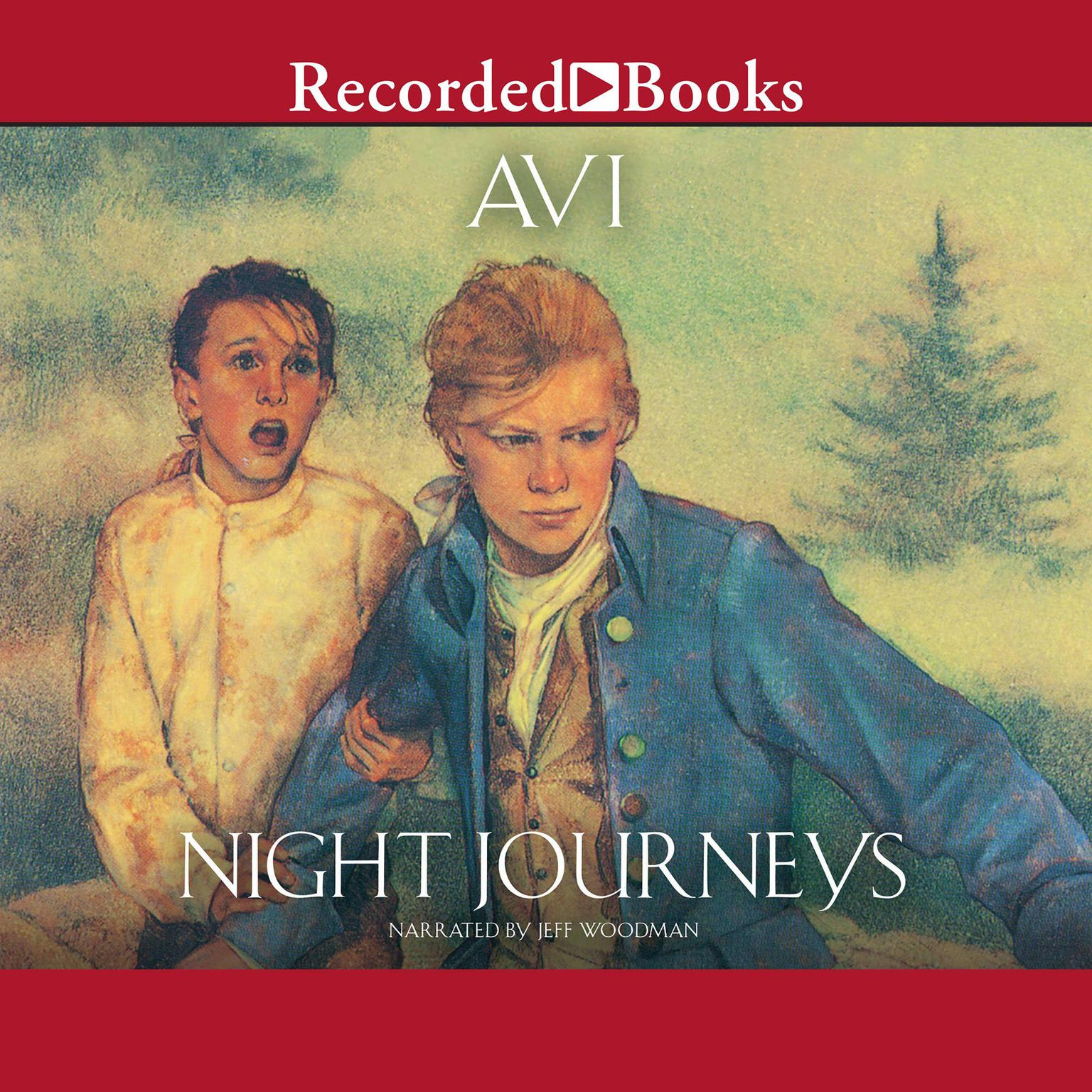 Printable Night Journeys Audiobook Cover Art