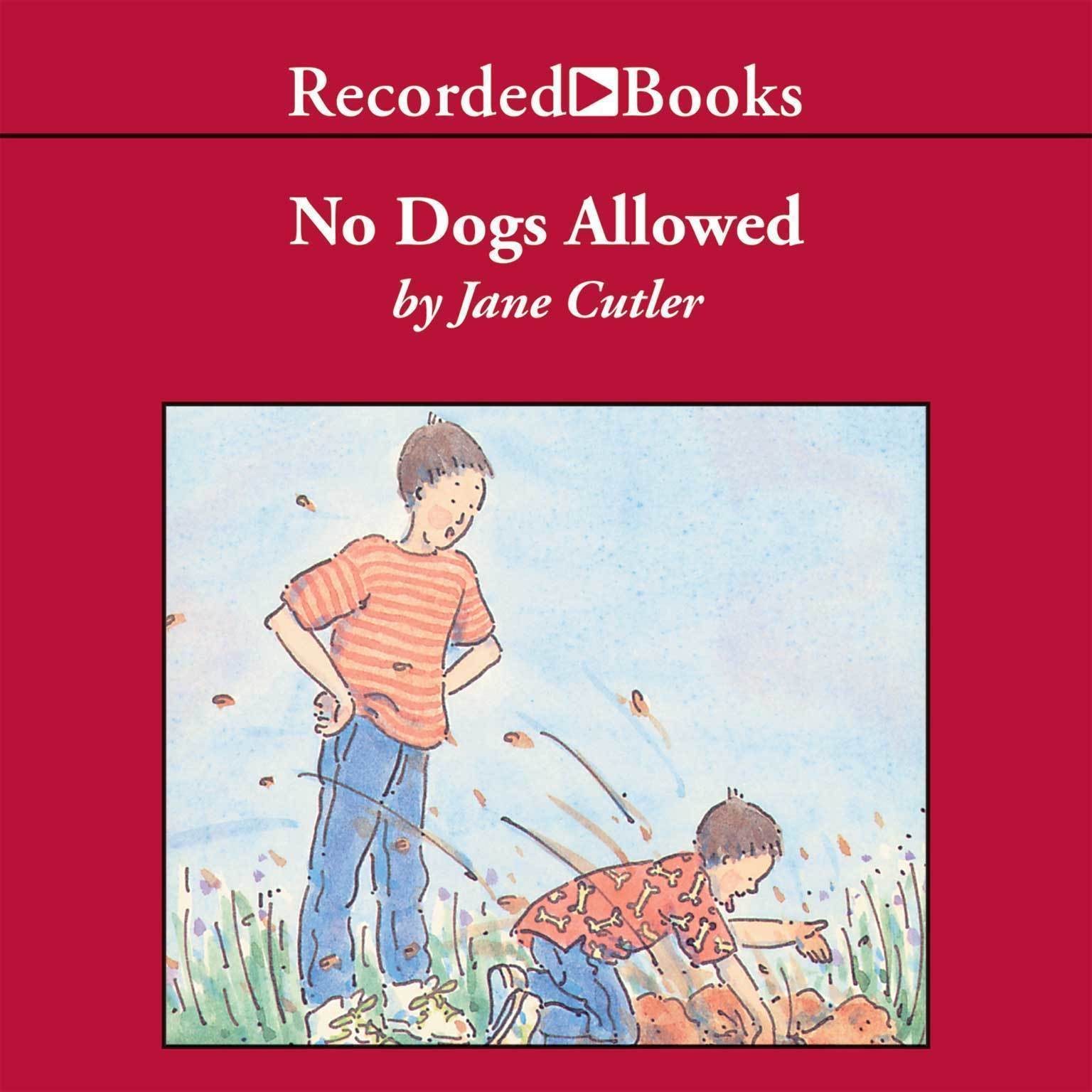 Printable No Dogs Allowed Audiobook Cover Art