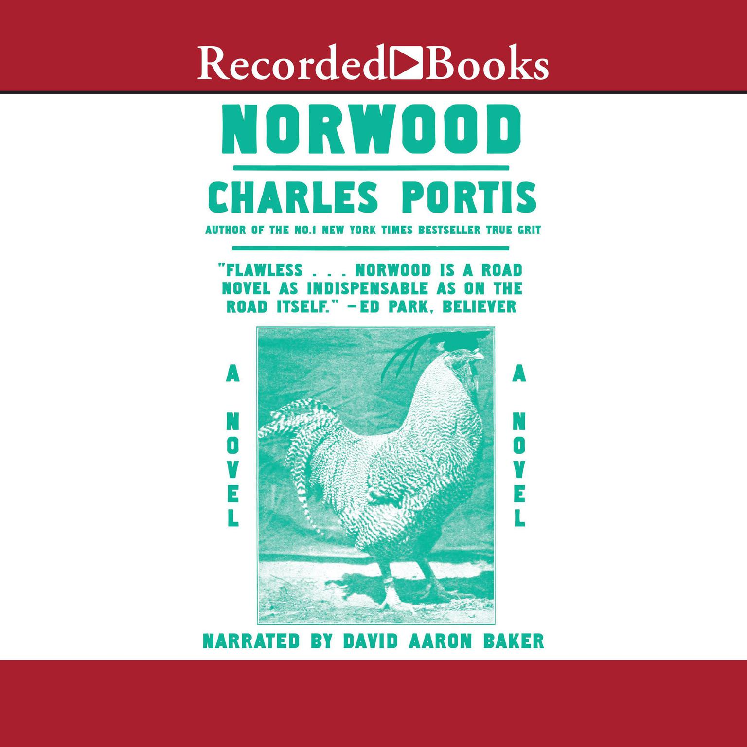 Printable Norwood Audiobook Cover Art