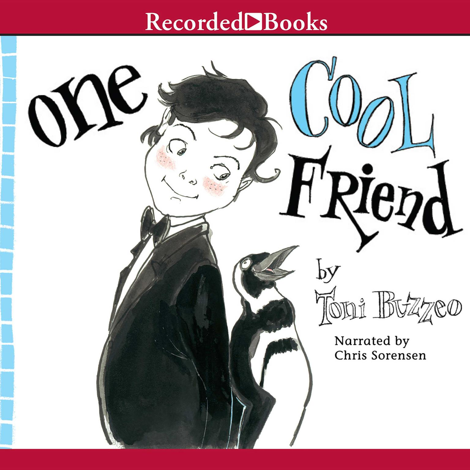 Printable One Cool Friend Audiobook Cover Art
