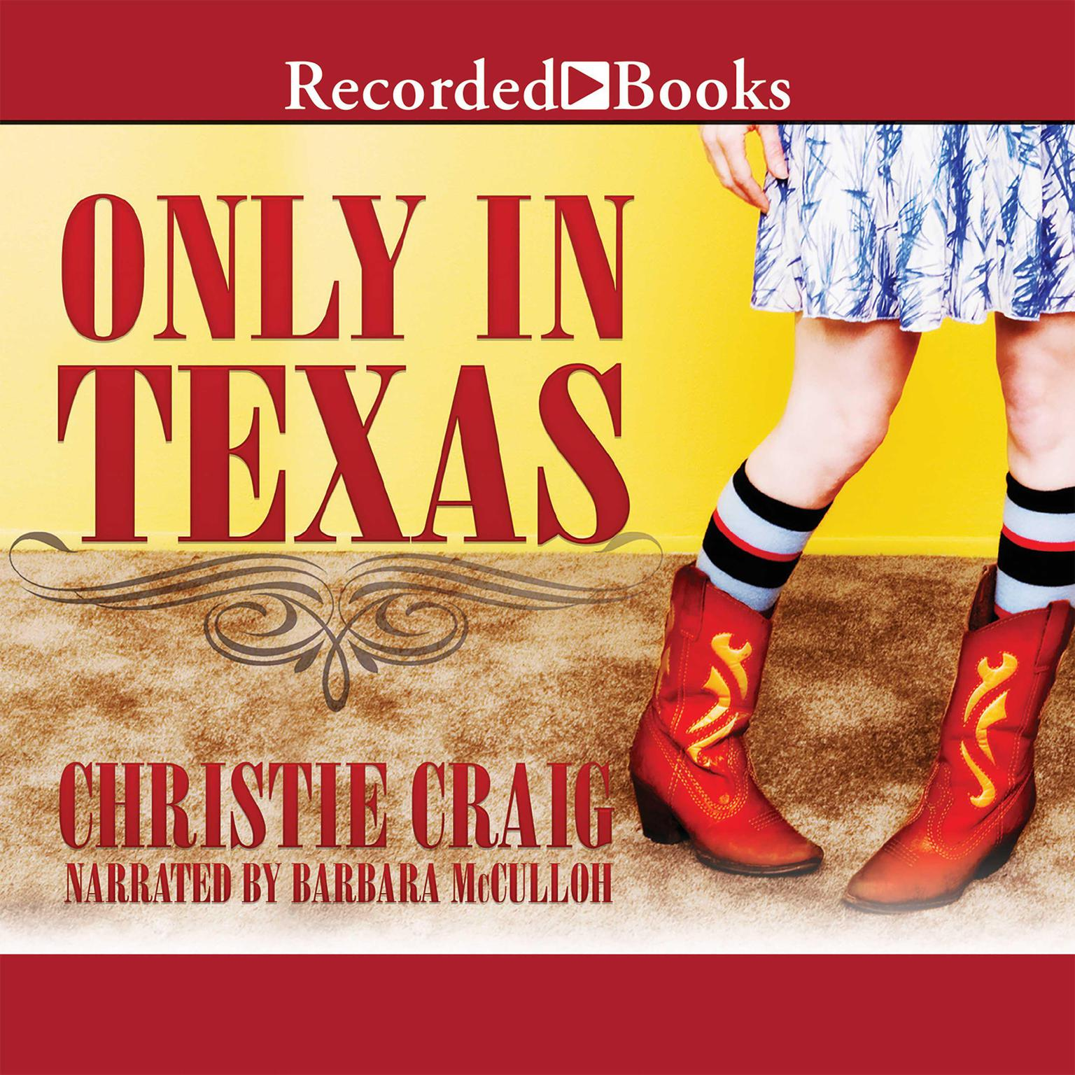 Printable Only in Texas Audiobook Cover Art