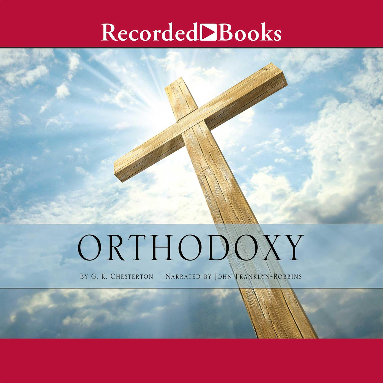 Printable Orthodoxy Audiobook Cover Art