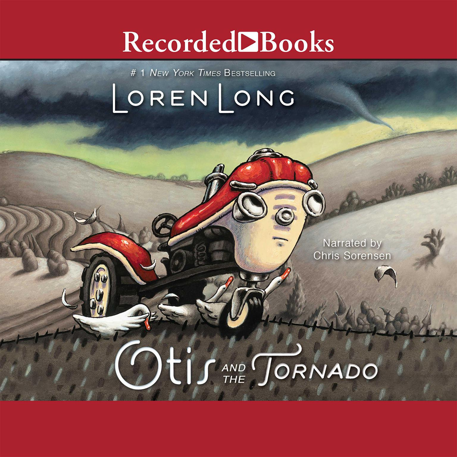 Printable Otis and the Tornado Audiobook Cover Art