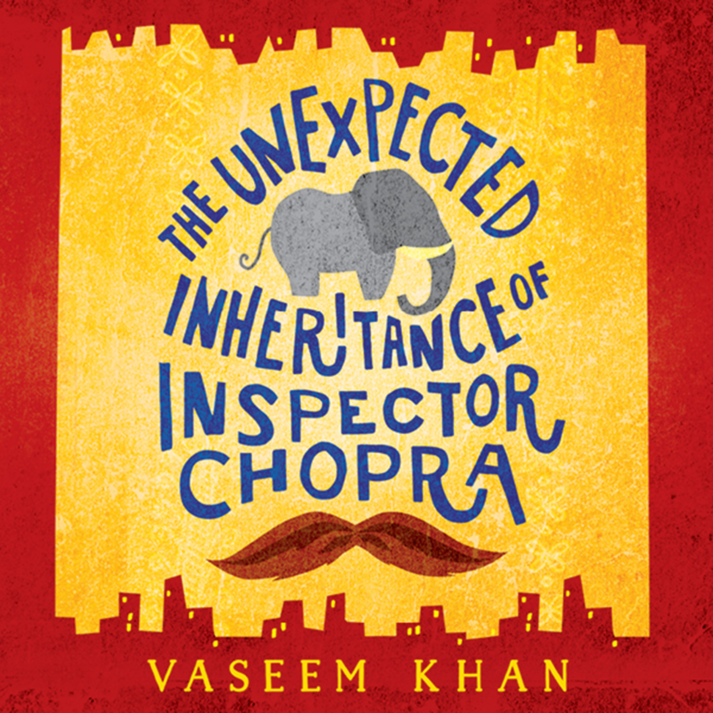 Printable The Unexpected Inheritance of Inspector Chopra Audiobook Cover Art