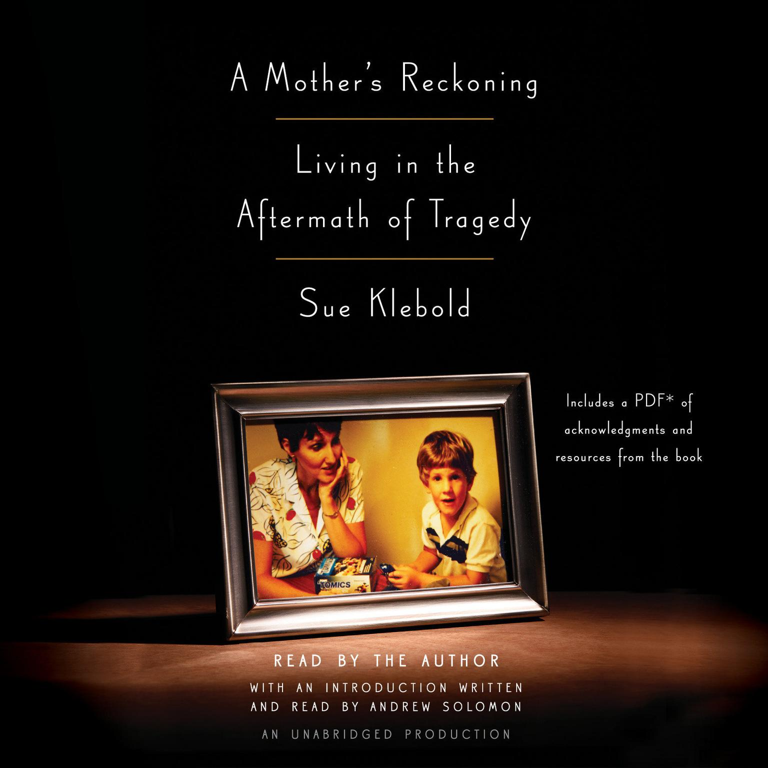Printable A Mother's Reckoning: Living in the Aftermath of Tragedy Audiobook Cover Art