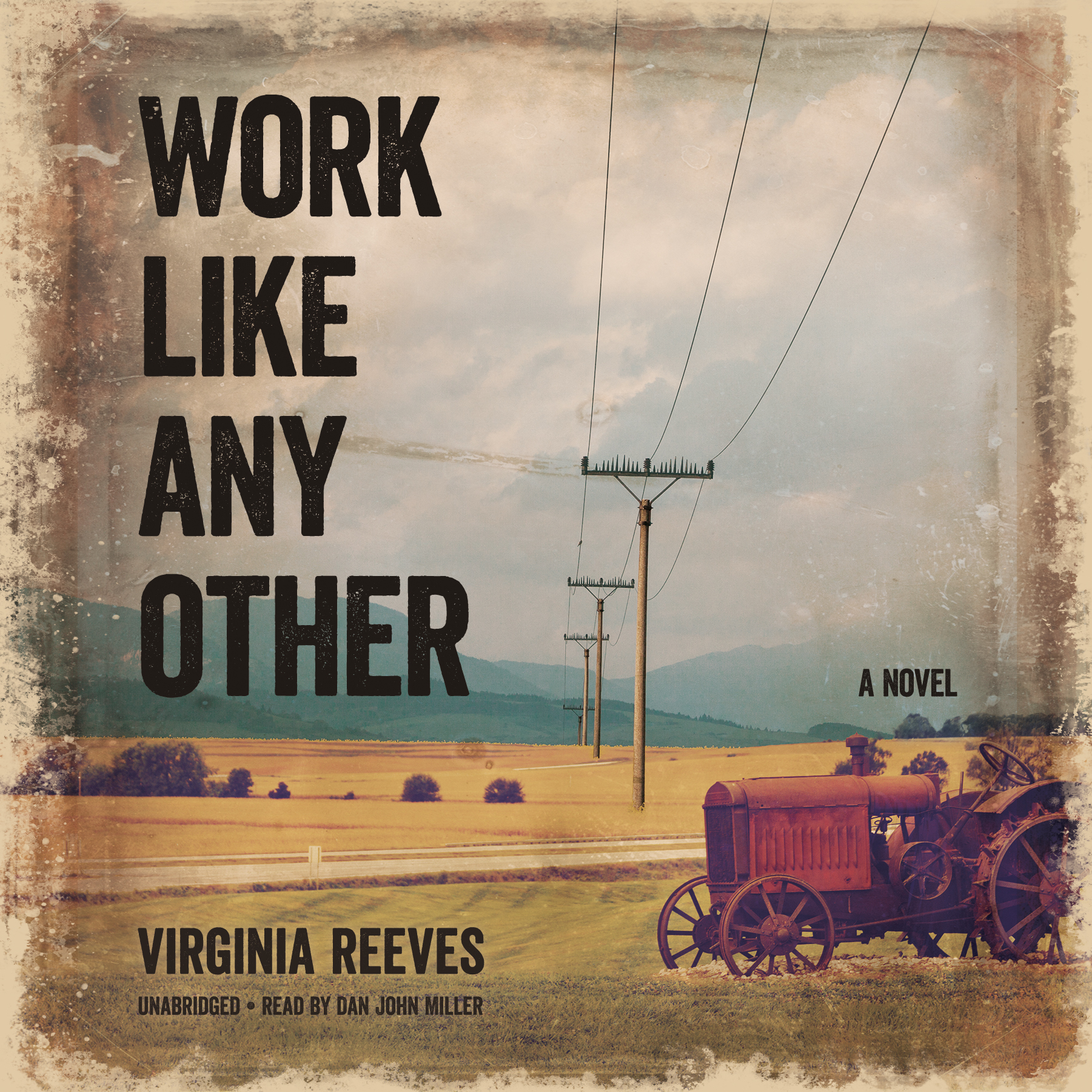 Printable Work like Any Other: A Novel Audiobook Cover Art