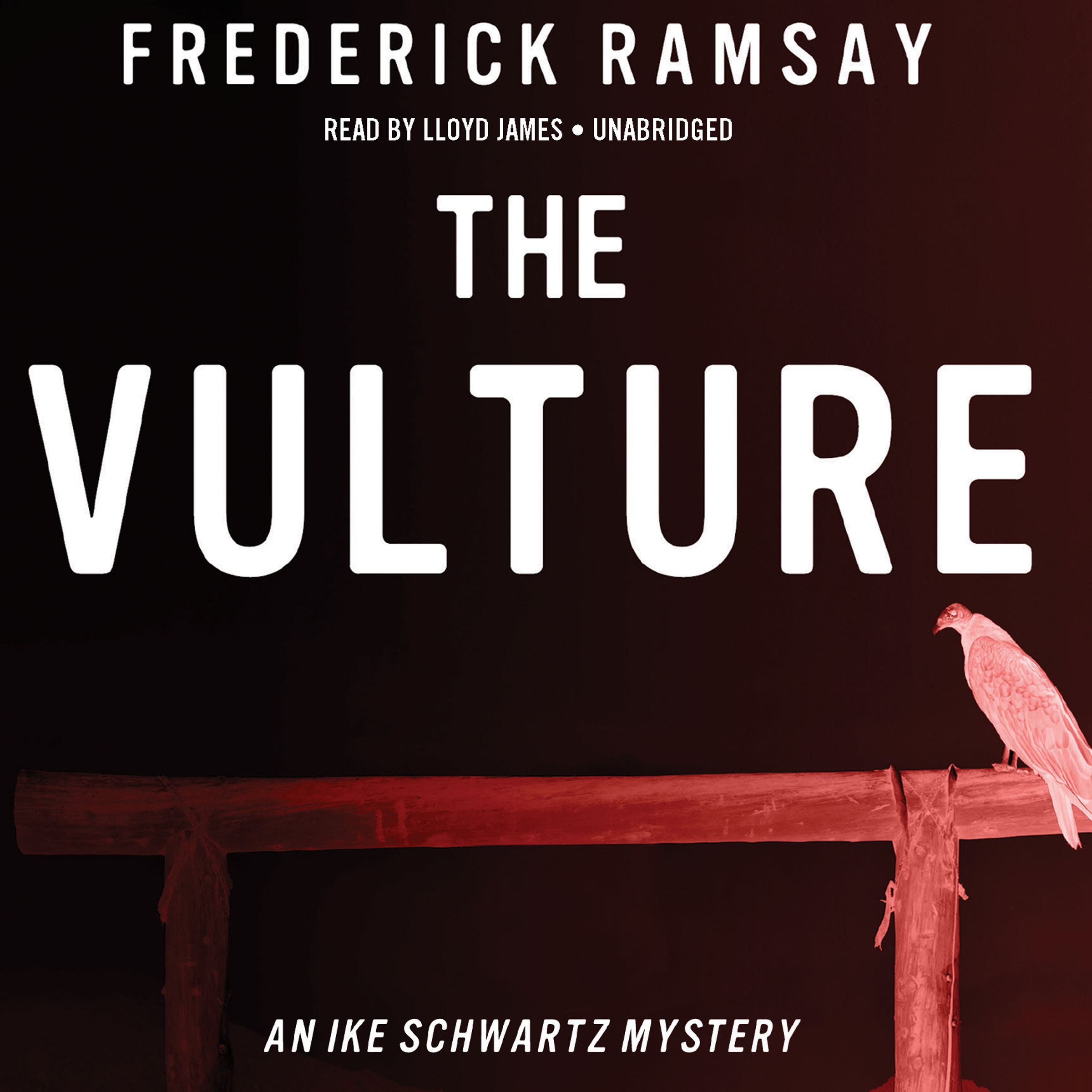 Printable The Vulture: An Ike Schwartz Mystery Audiobook Cover Art