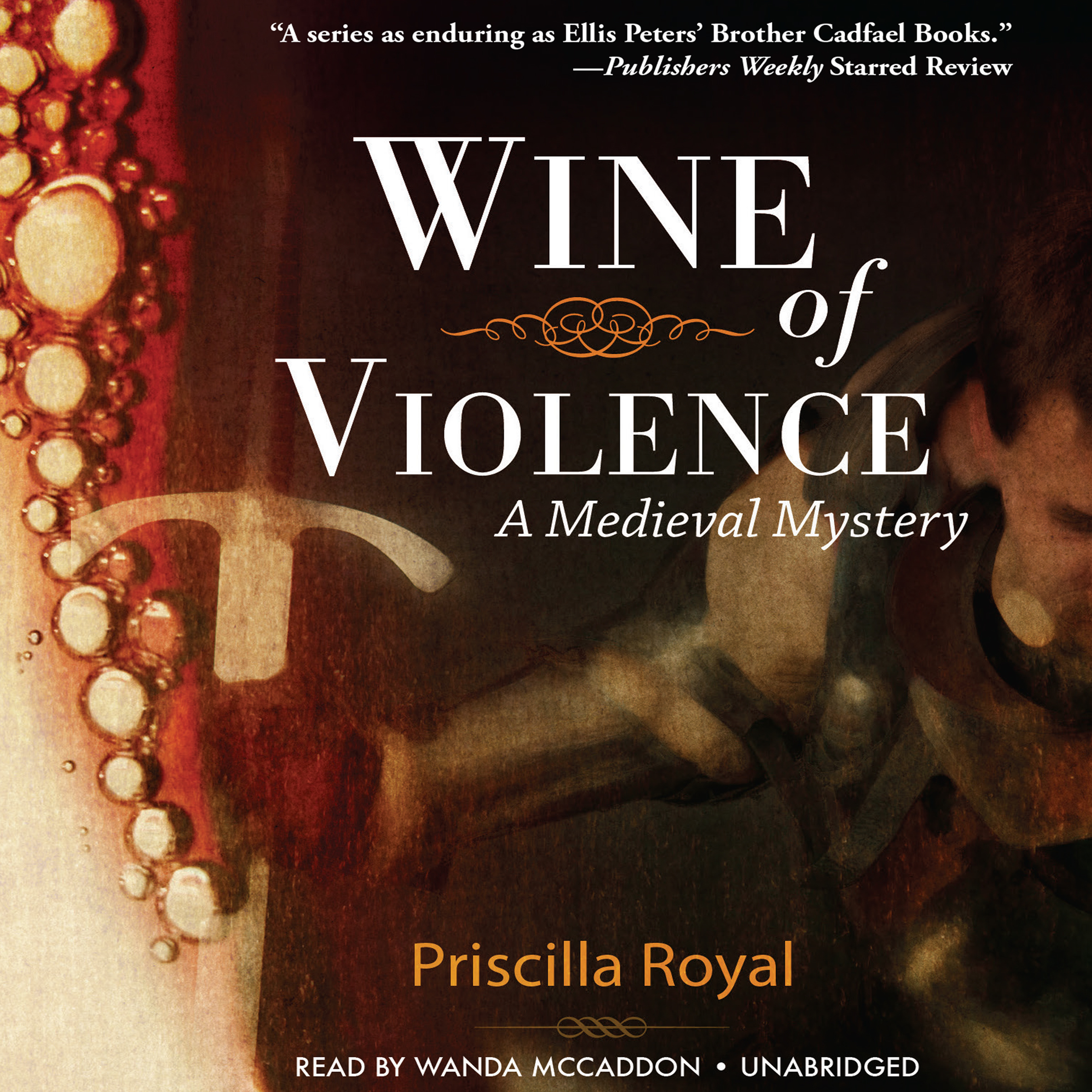 Printable Wine of Violence Audiobook Cover Art
