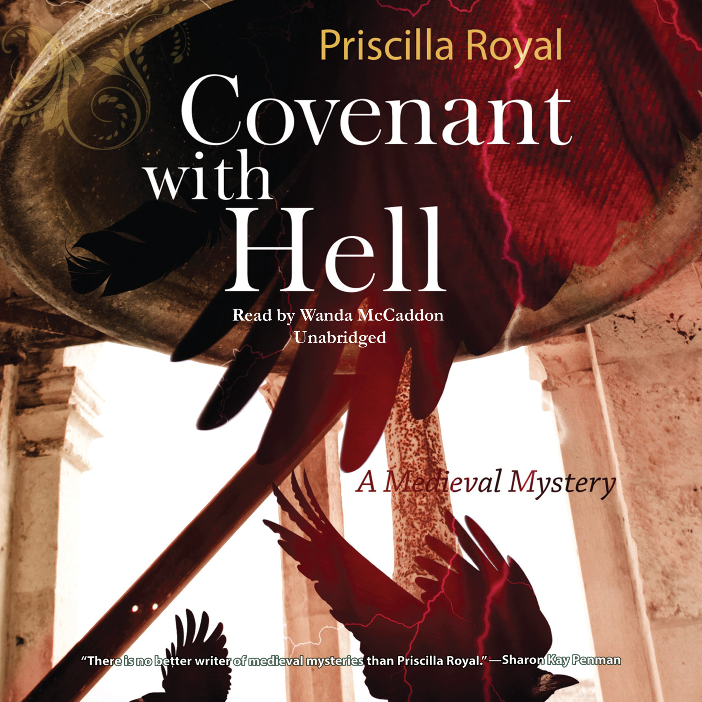 Printable Covenant with Hell: A Medieval Mystery Audiobook Cover Art