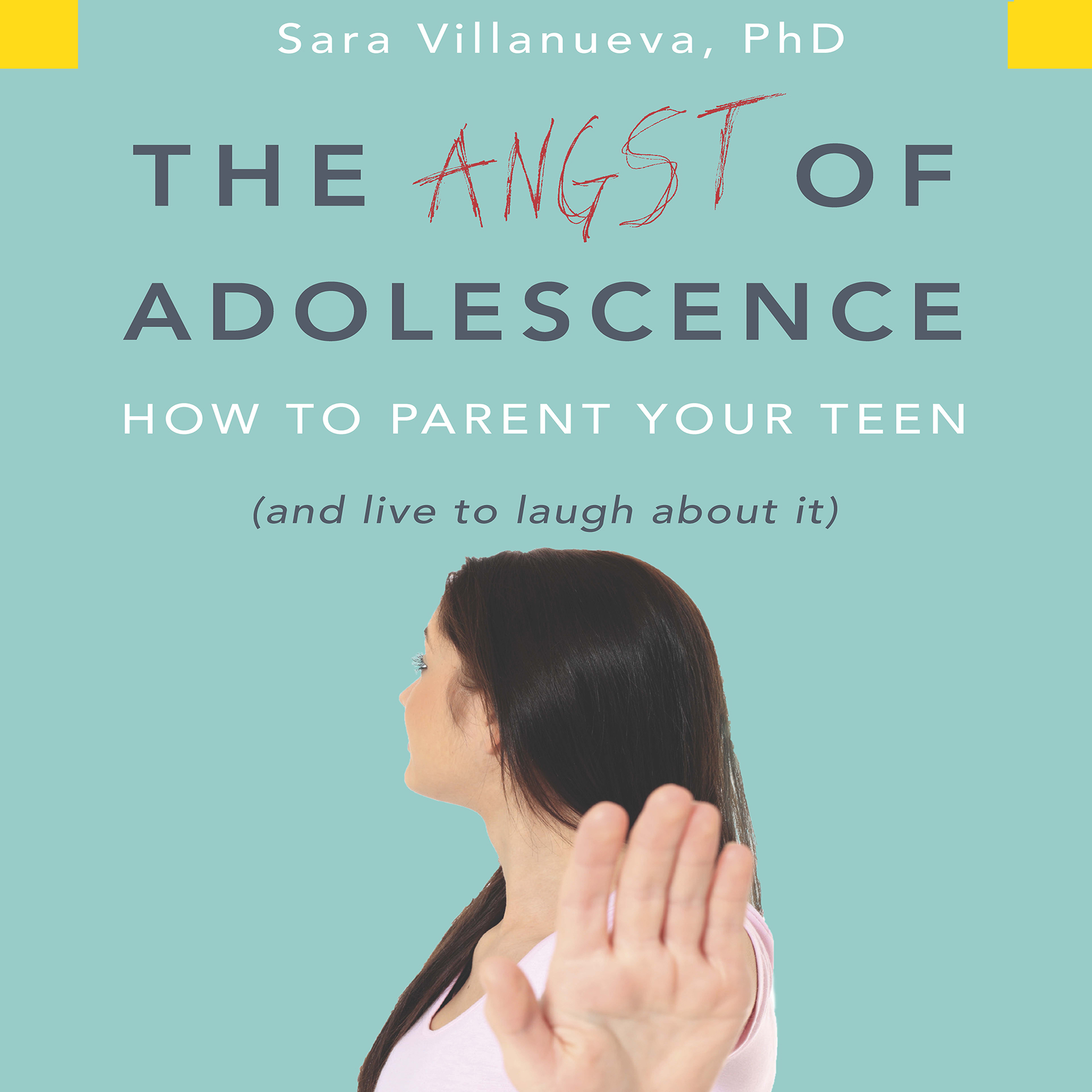 Printable The Angst of Adolescence: How to Parent Your Teen and Live to Laugh About It Audiobook Cover Art