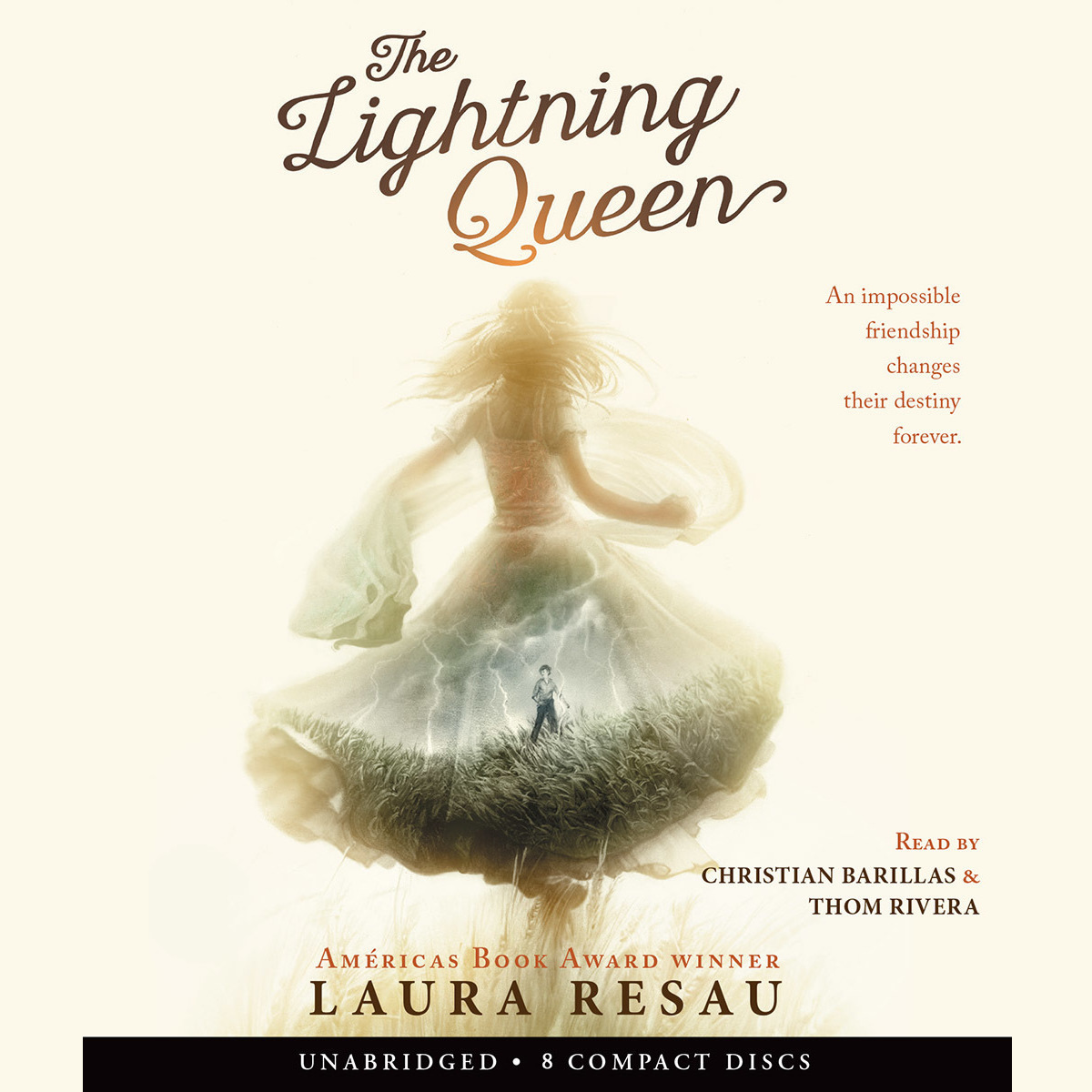 Printable The Lightning Queen Audiobook Cover Art