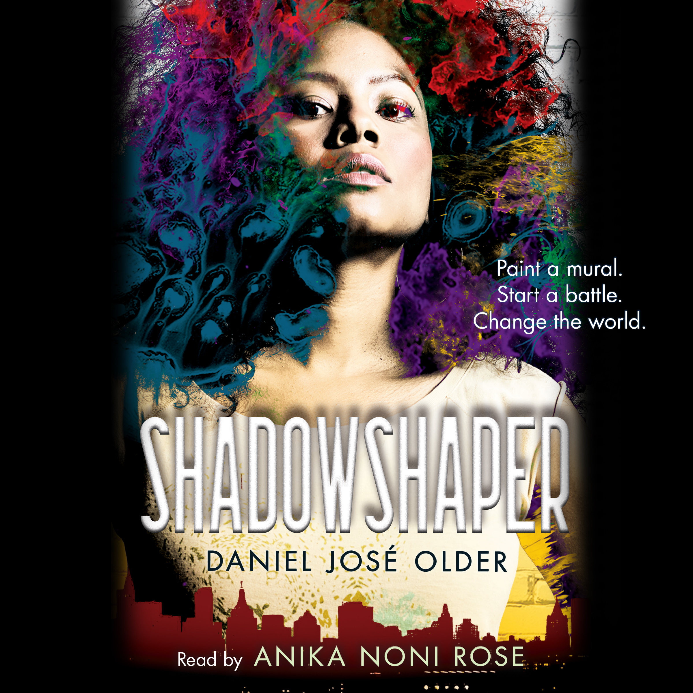 Printable Shadowshaper Audiobook Cover Art