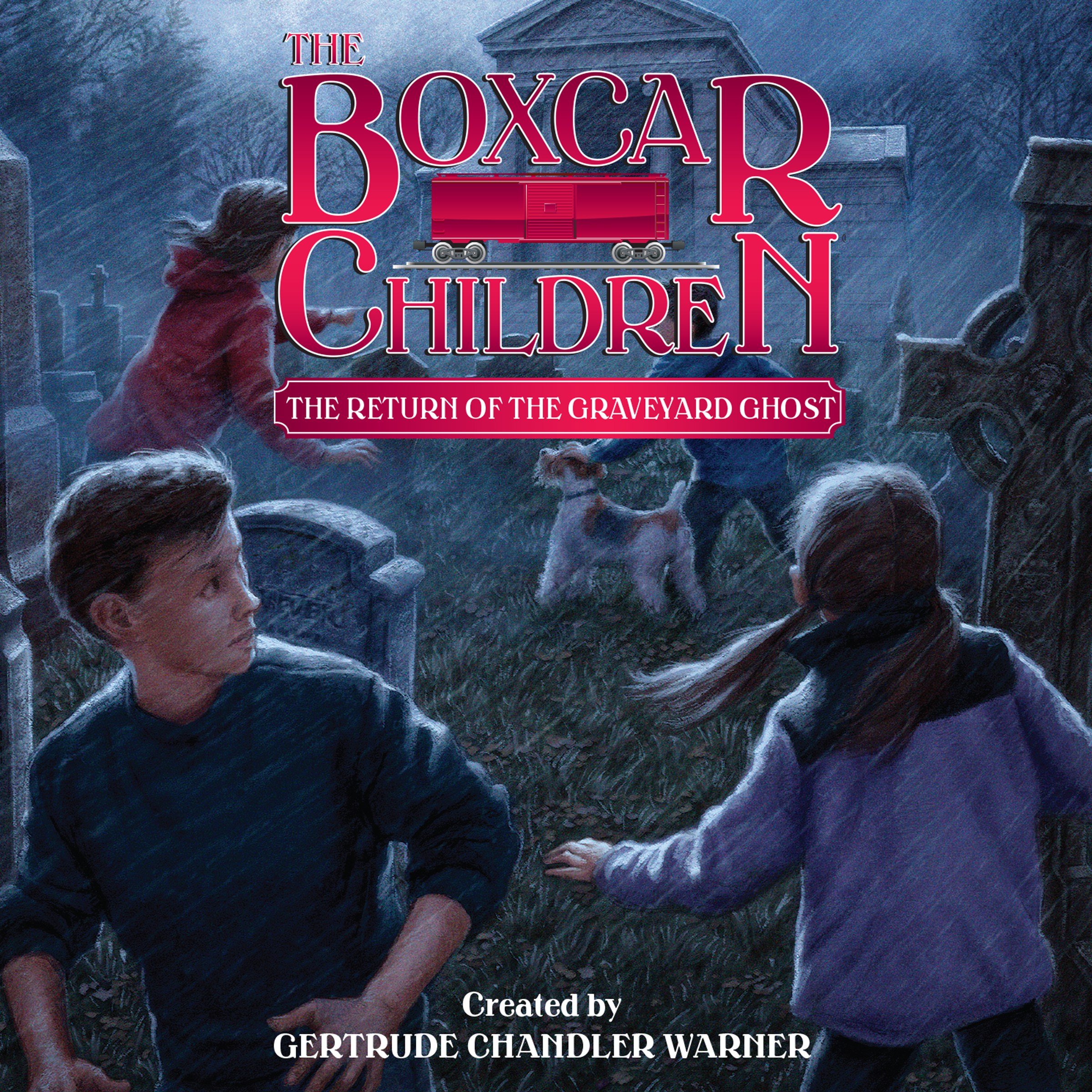 Printable The Return of the Graveyard Ghost Audiobook Cover Art