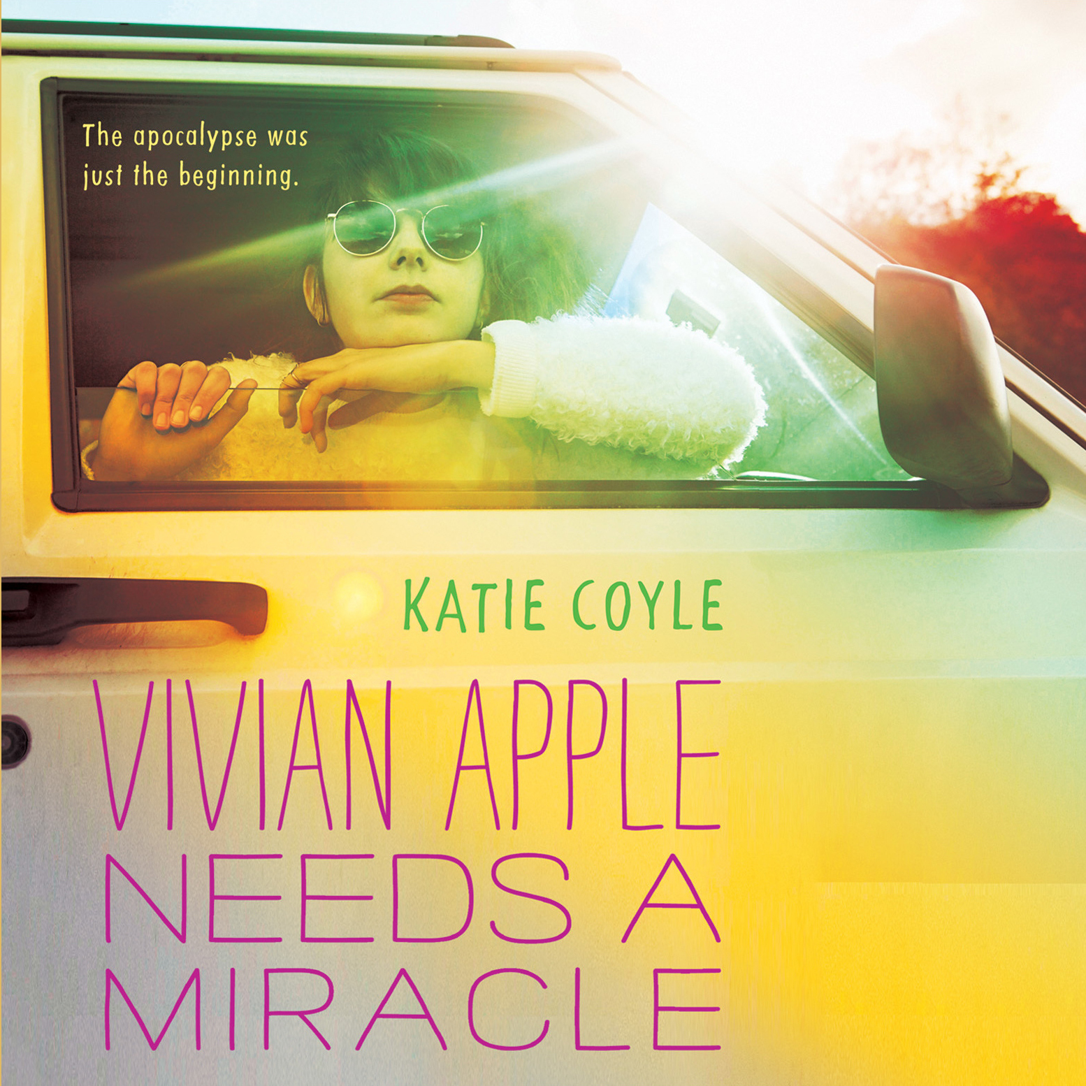 Printable Vivian Apple Needs a Miracle Audiobook Cover Art