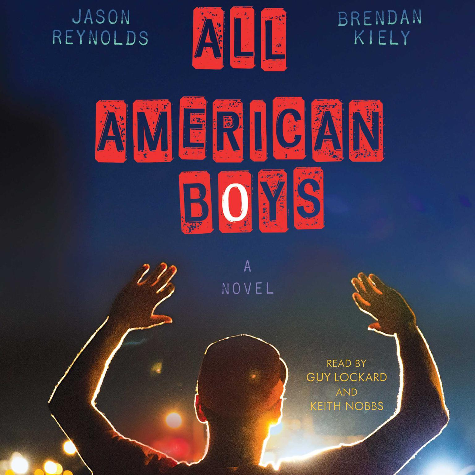 Printable All American Boys Audiobook Cover Art