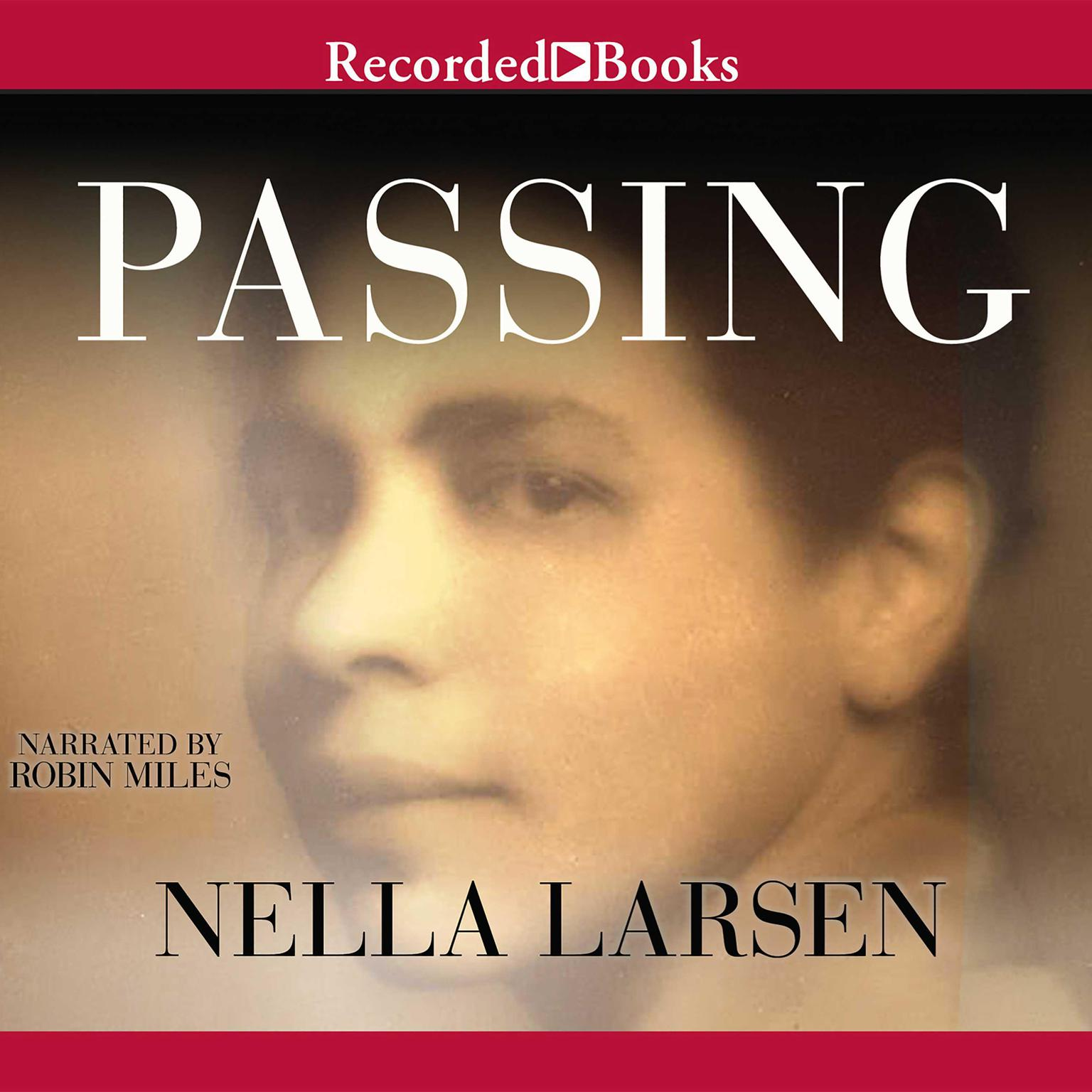 Printable Passing Audiobook Cover Art