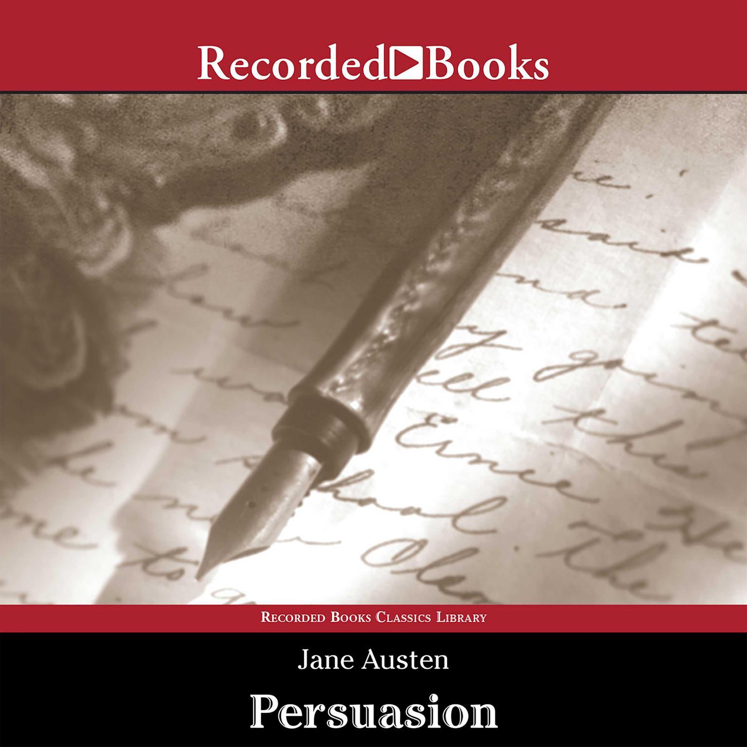 Printable Persuasion Audiobook Cover Art