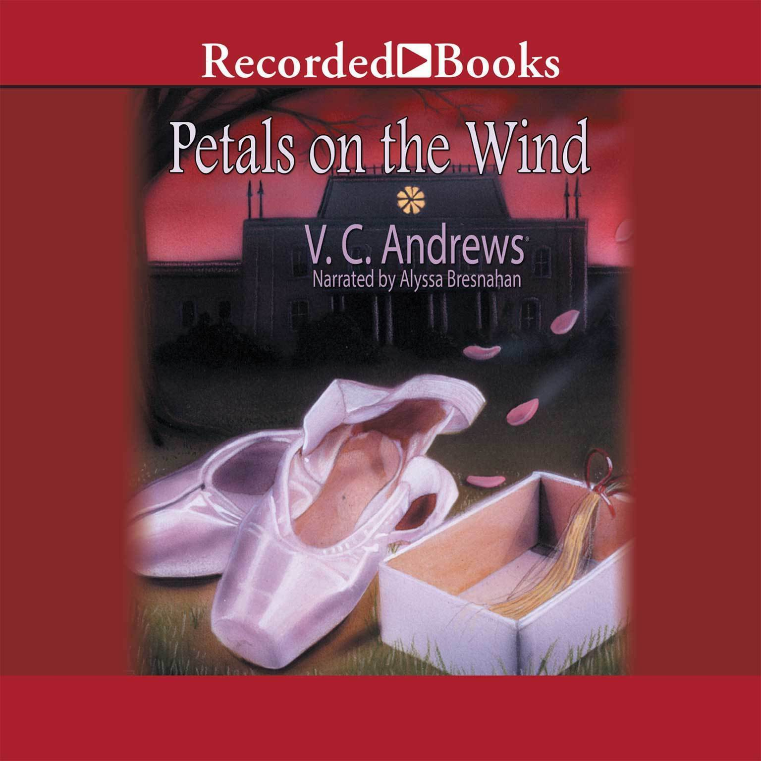 Printable Petals on the Wind Audiobook Cover Art