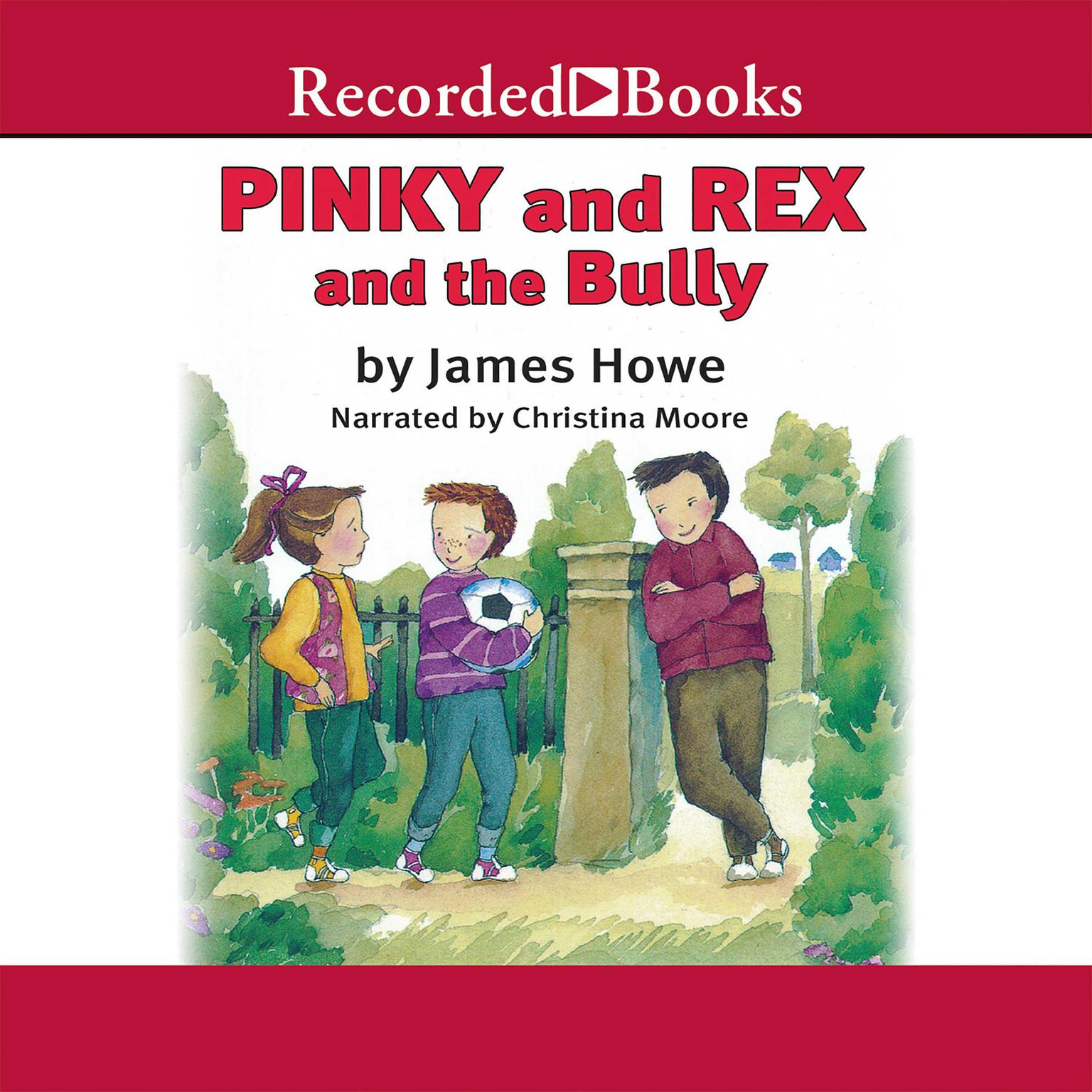 Printable Pinky and Rex and the Bully Audiobook Cover Art