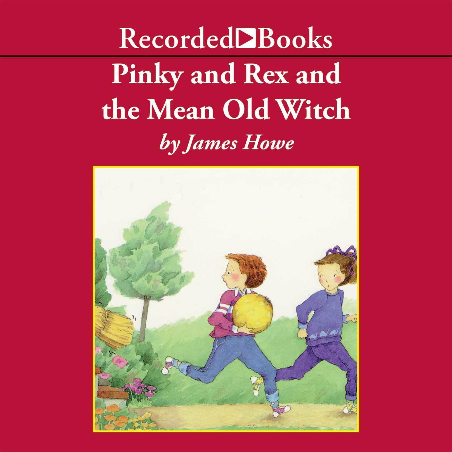 Printable Pinky and Rex and the Mean Old Witch Audiobook Cover Art