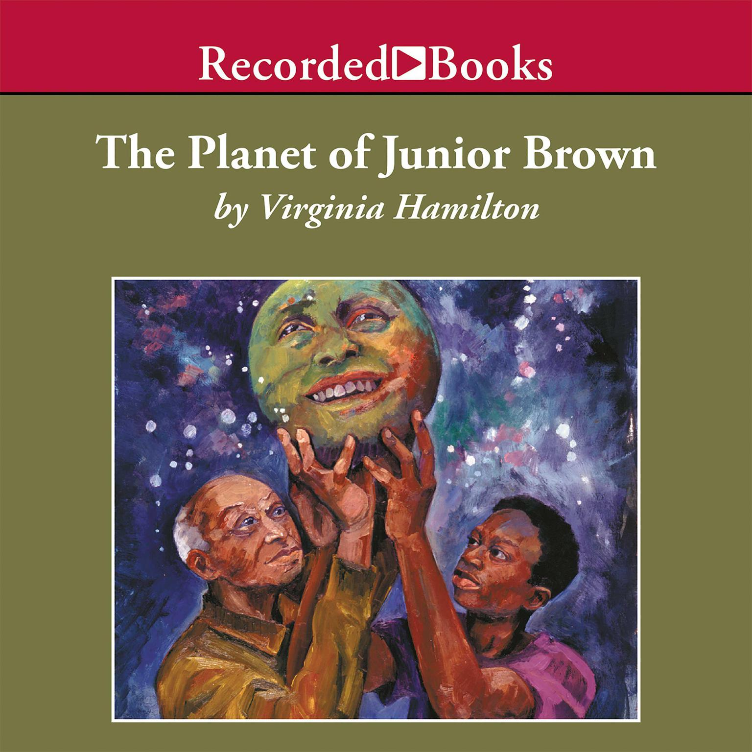 Printable The Planet of Junior Brown Audiobook Cover Art
