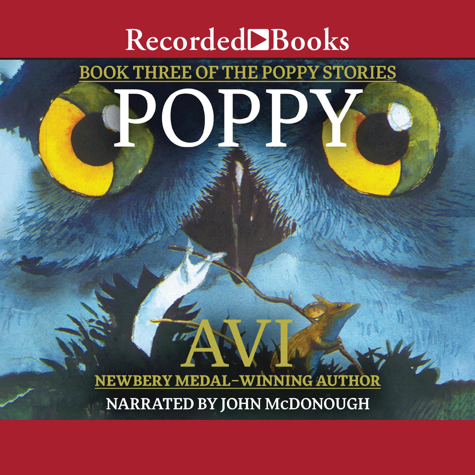 Printable Poppy Audiobook Cover Art