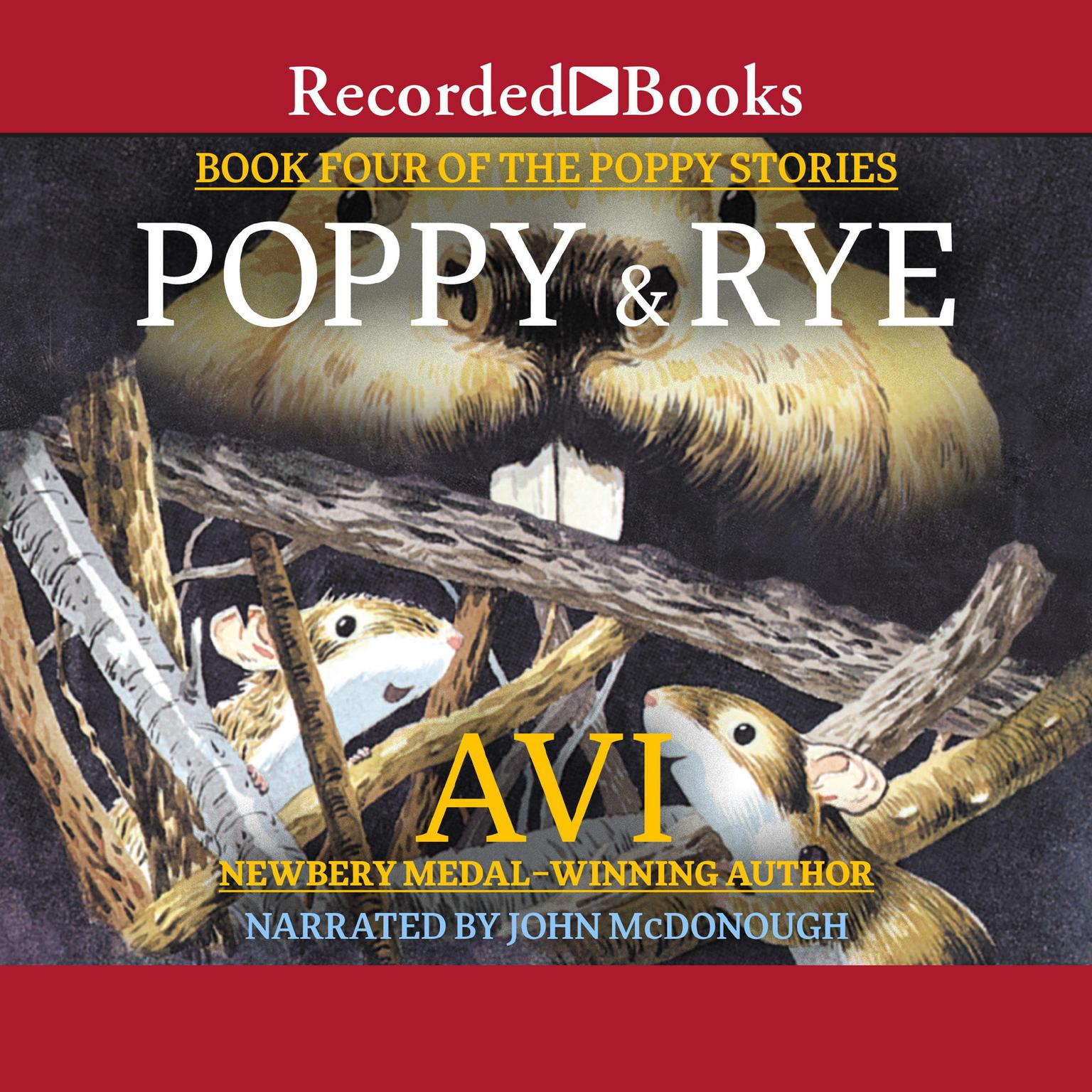 Printable Poppy and Rye Audiobook Cover Art
