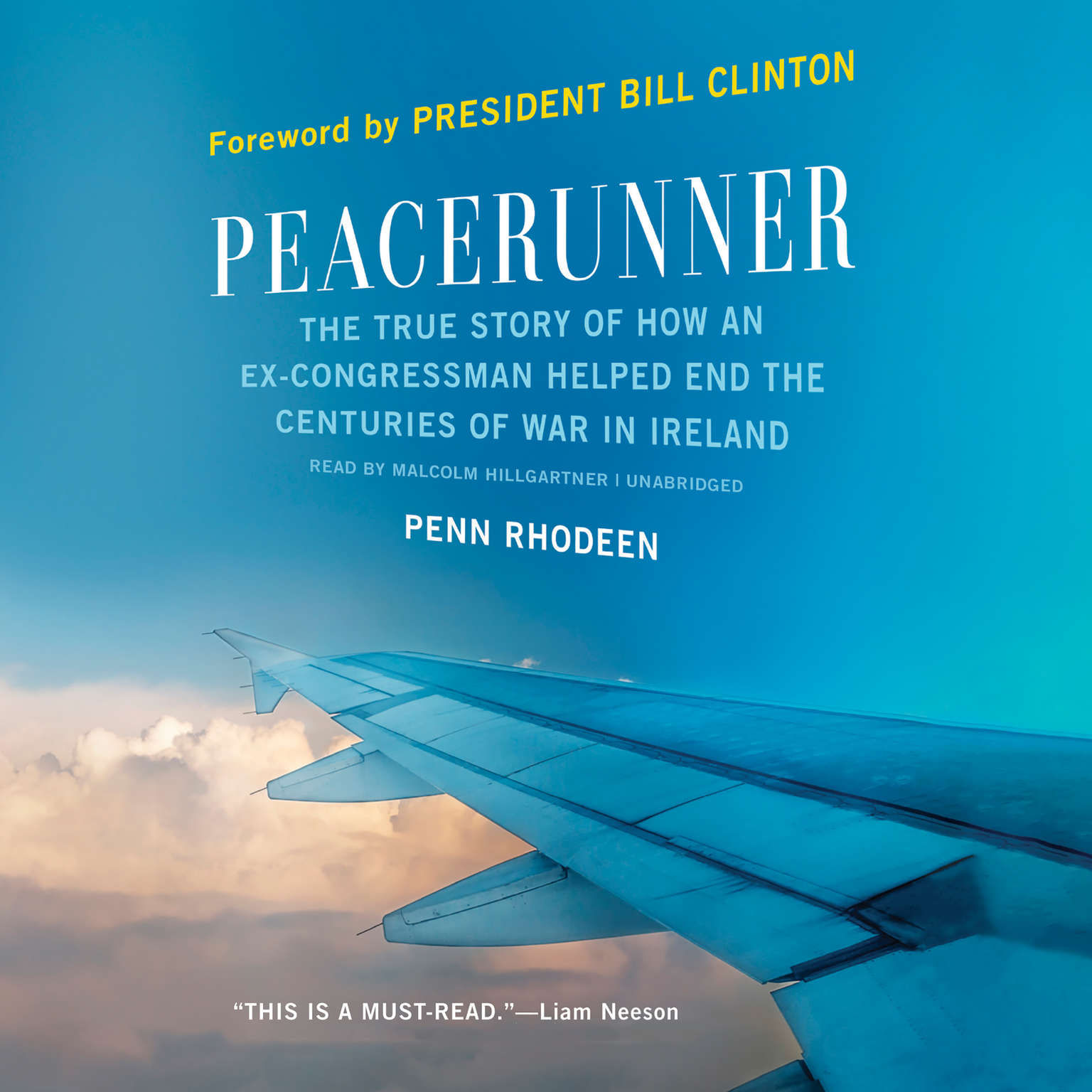 Printable Peacerunner: The True Story of How an Ex-congressman Helped End the Centuries of War in Ireland Audiobook Cover Art