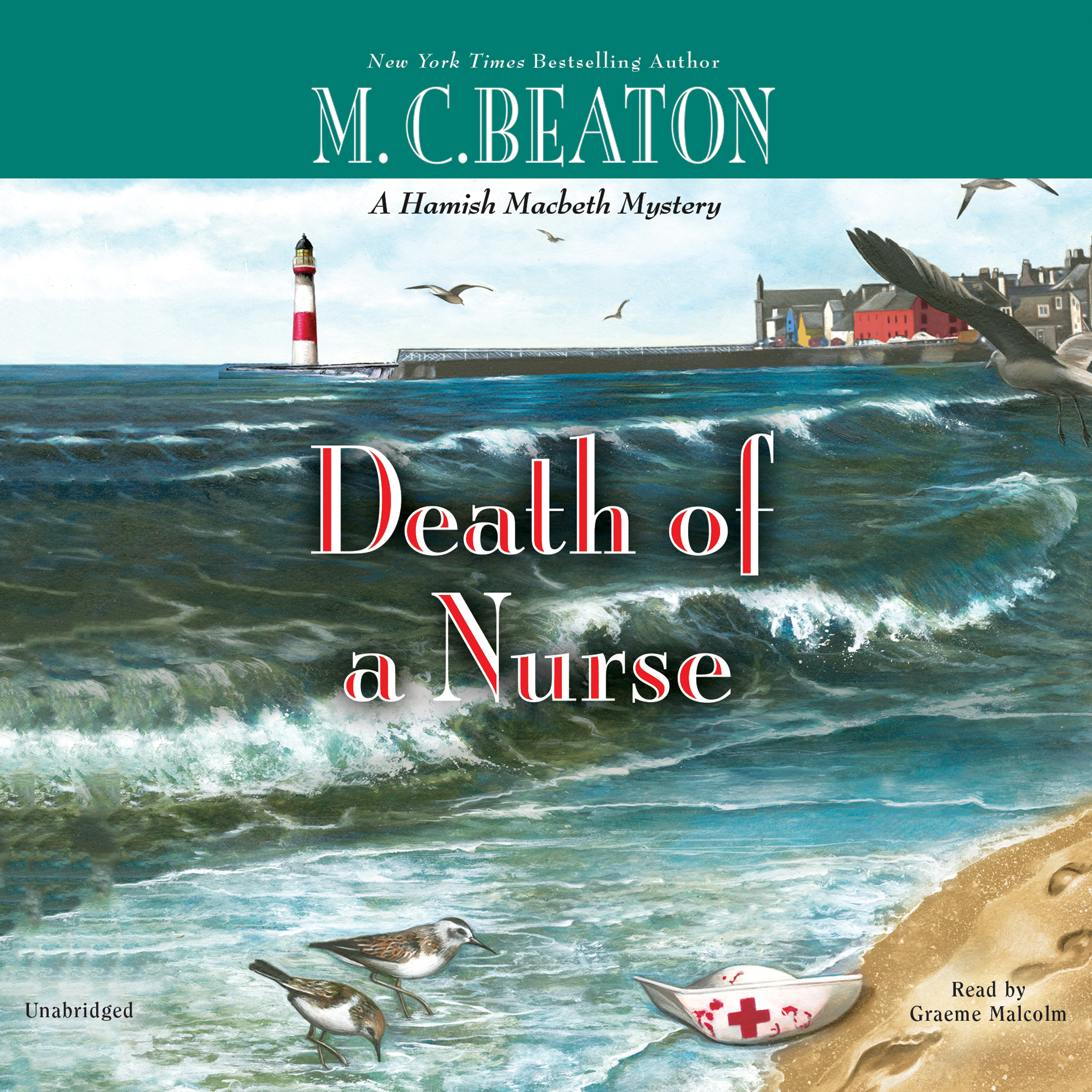 Printable Death of a Nurse Audiobook Cover Art