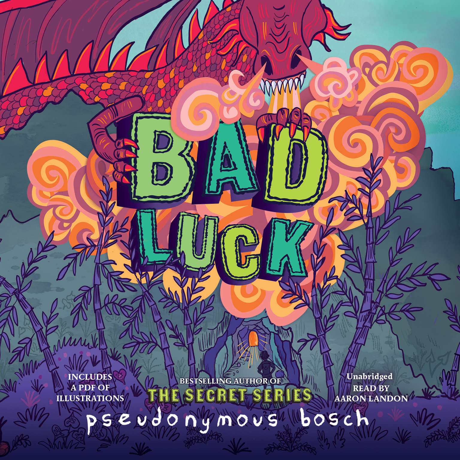 Printable Bad Luck Audiobook Cover Art