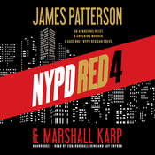 NYPD Red 4 Audiobook, by James Patterson