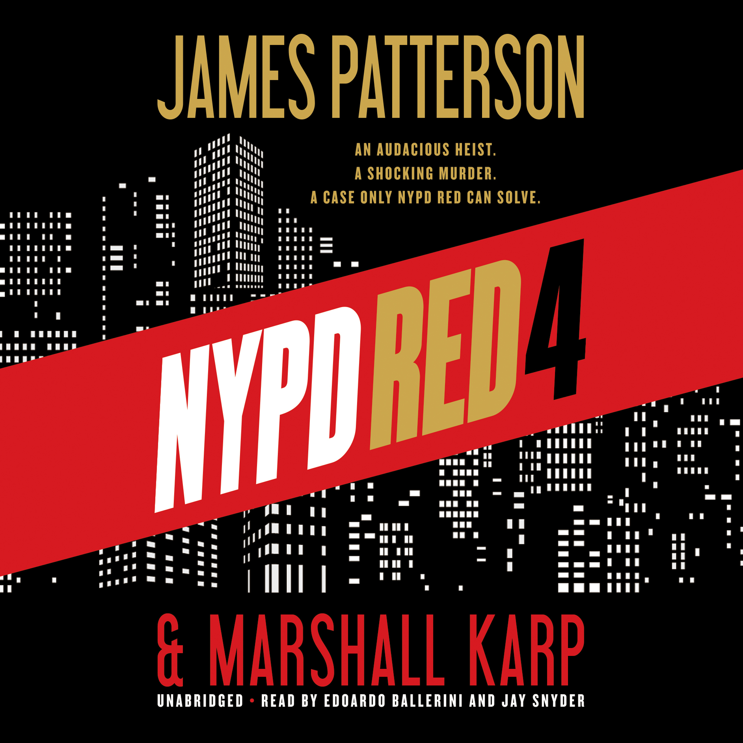 Printable NYPD Red 4 Audiobook Cover Art