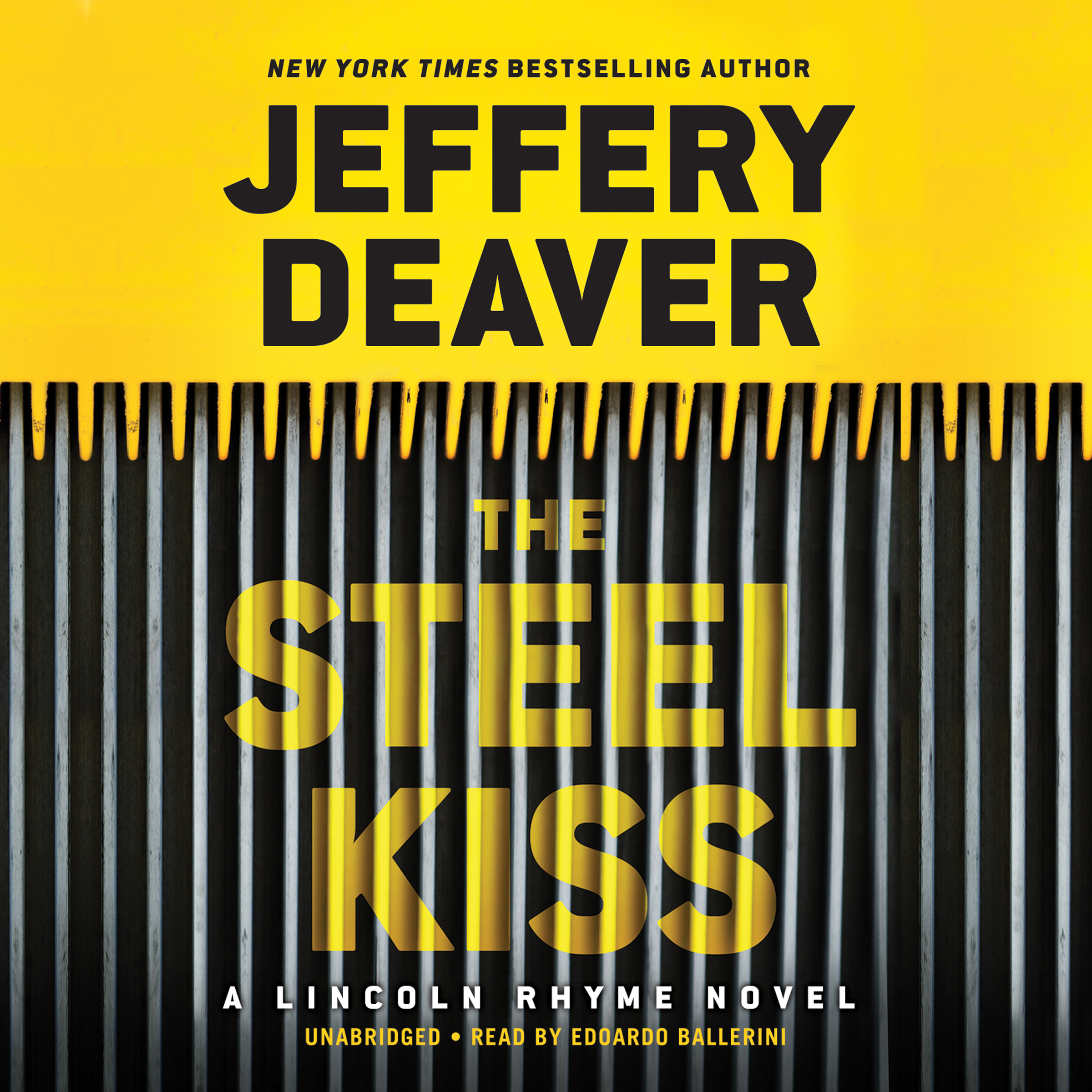 Printable The Steel Kiss Audiobook Cover Art