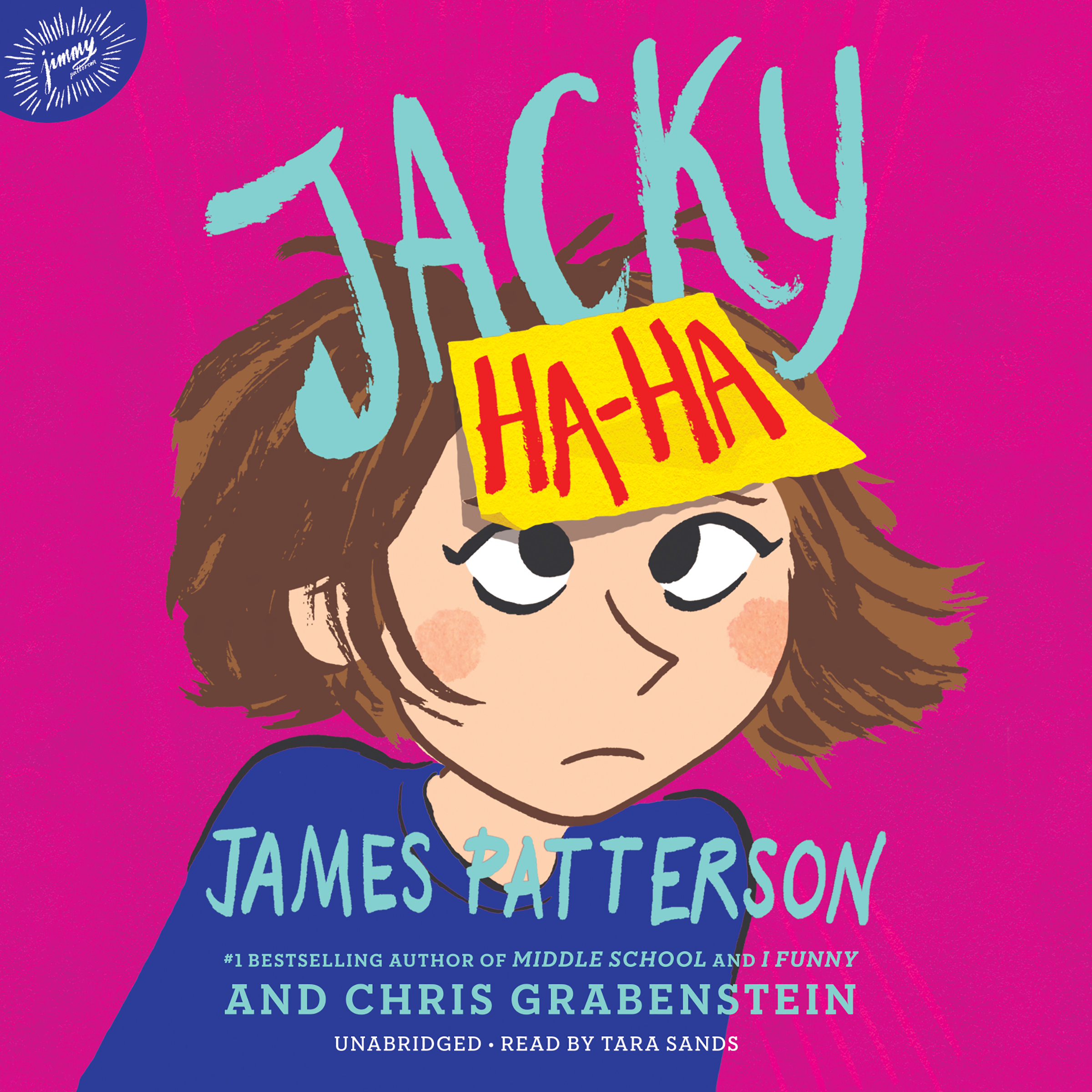 Printable Jacky Ha-Ha Audiobook Cover Art