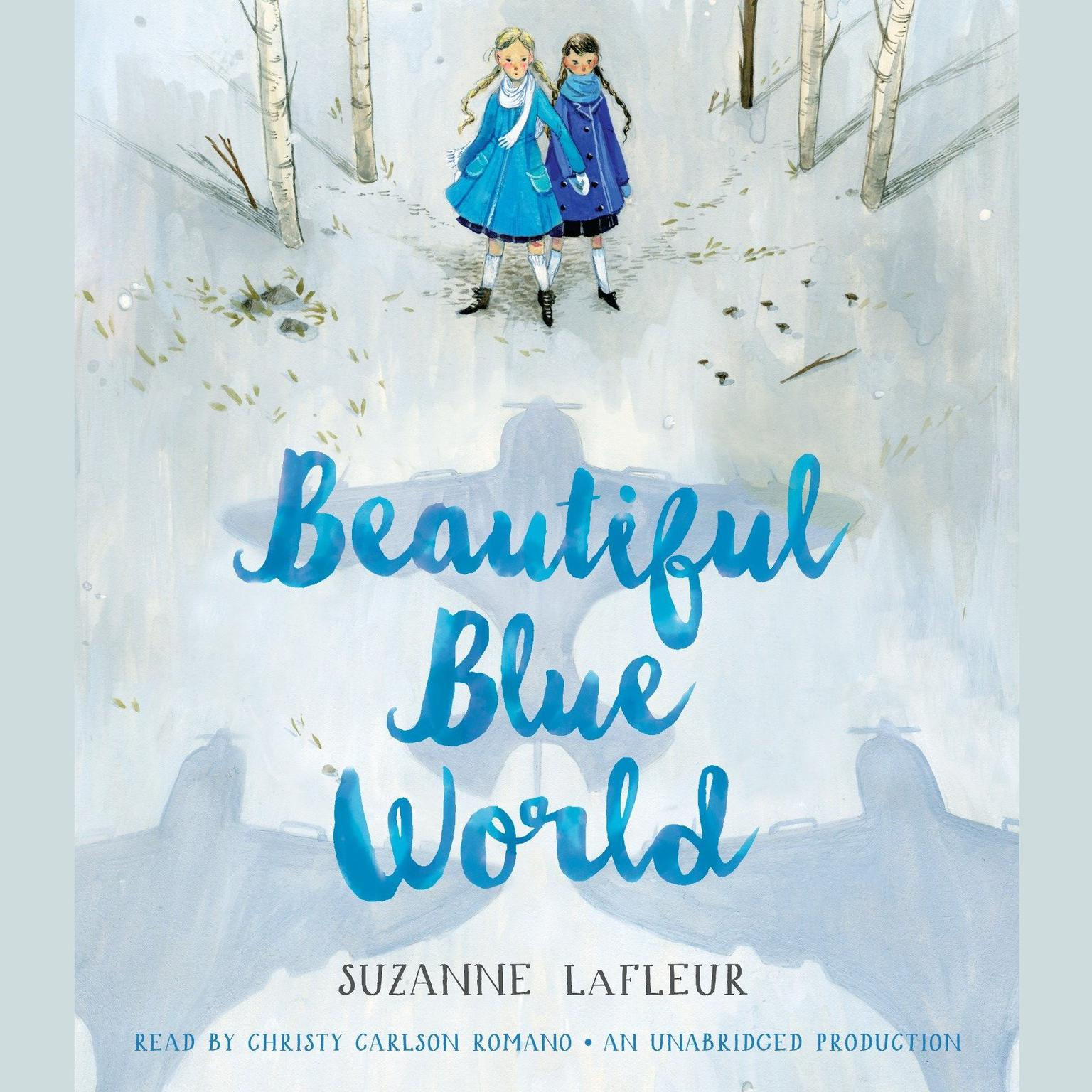 Printable Beautiful Blue World Audiobook Cover Art