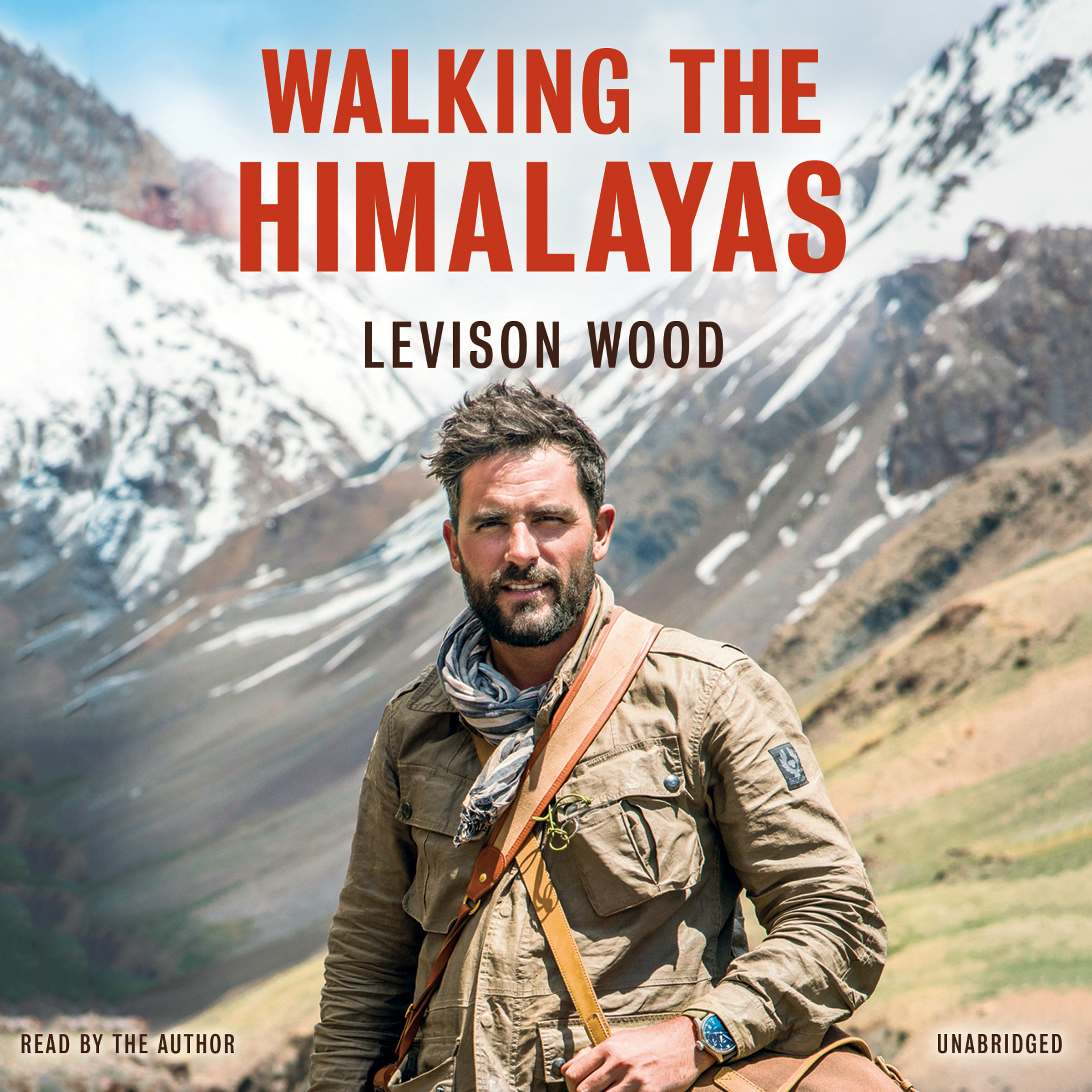 Printable Walking the Himalayas Audiobook Cover Art