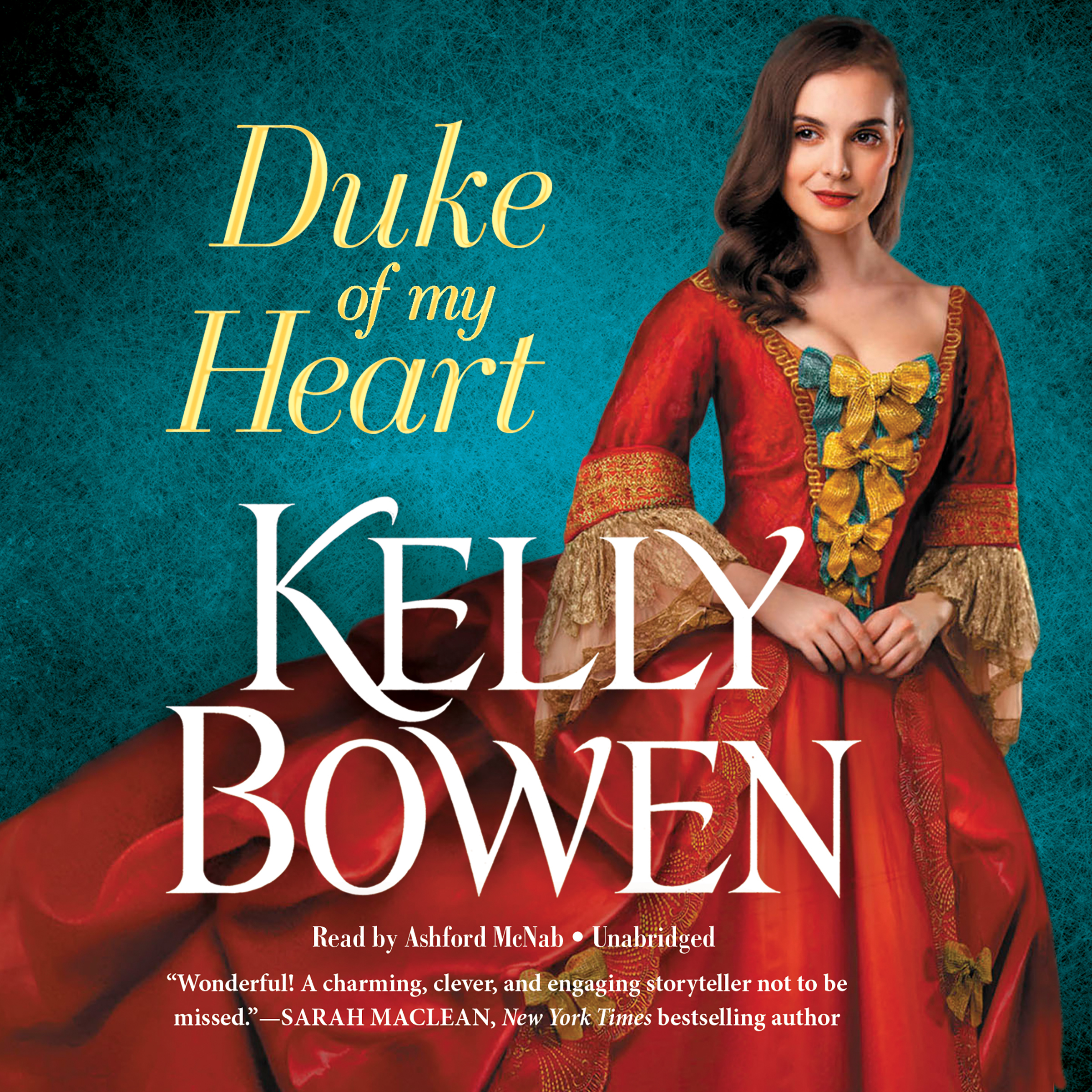 Printable Duke of My Heart Audiobook Cover Art