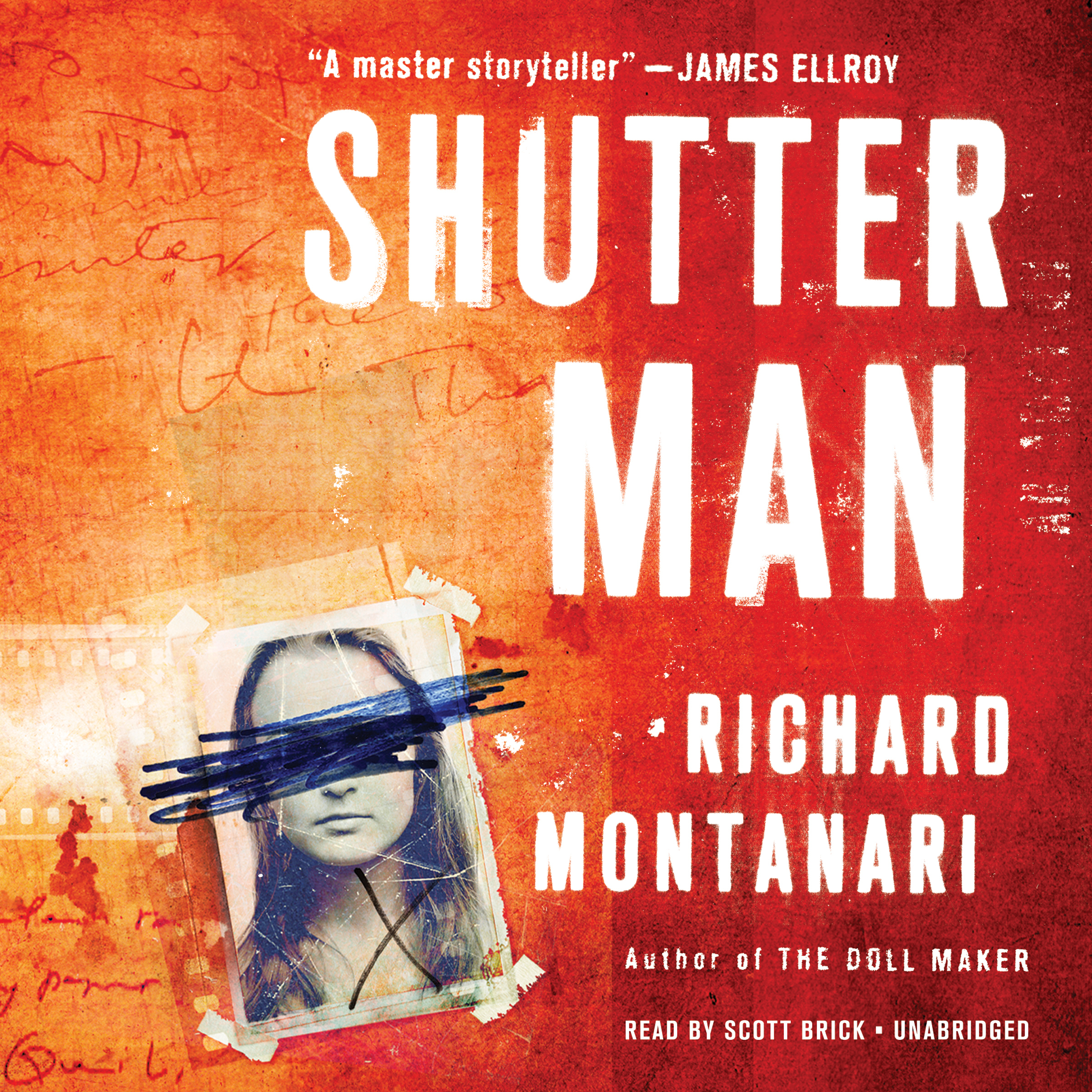 Printable Shutter Man Audiobook Cover Art