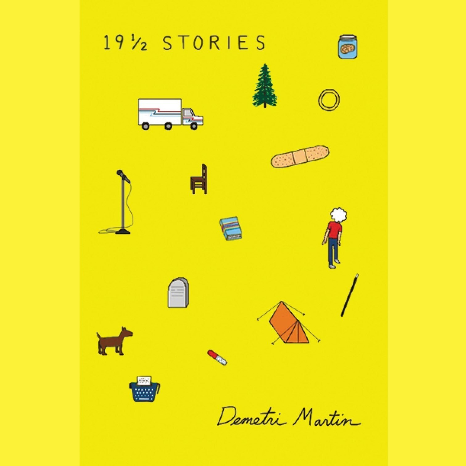 Printable 19½ Stories Audiobook Cover Art