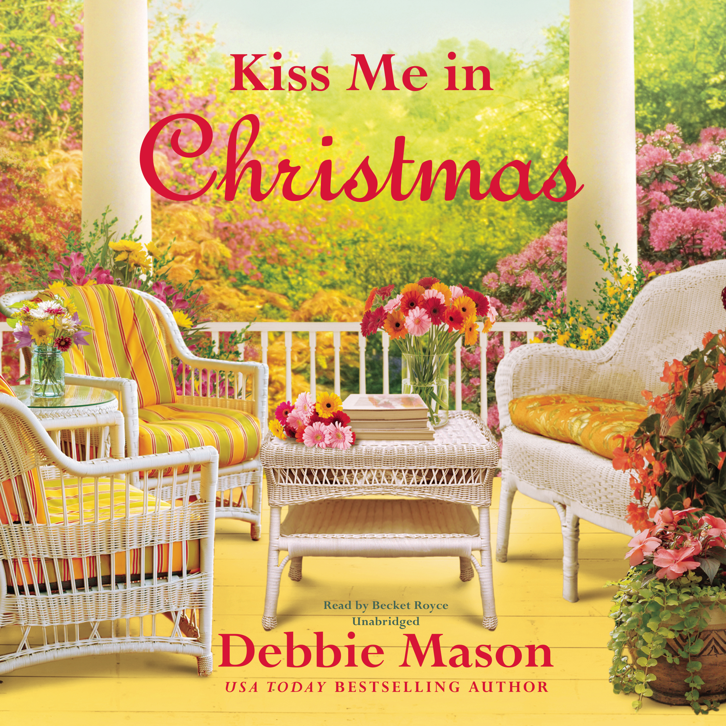 Printable Kiss Me in Christmas Audiobook Cover Art