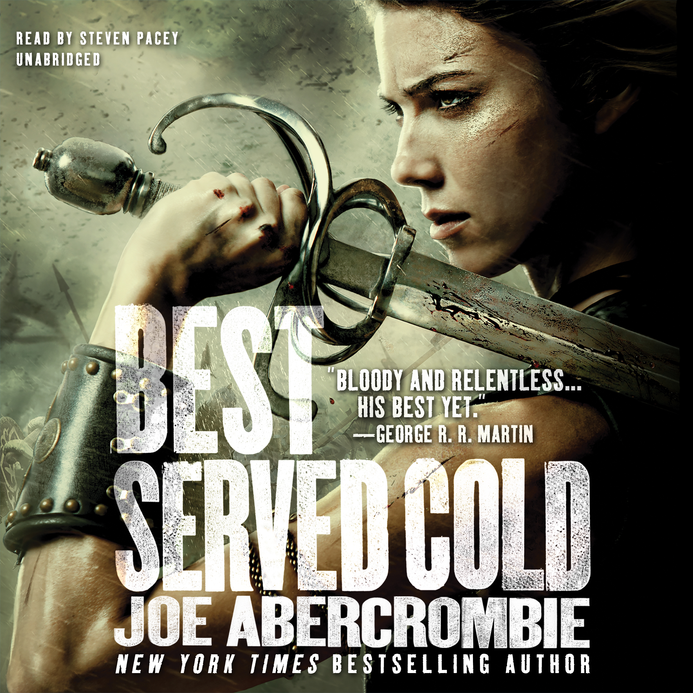 Printable Best Served Cold Audiobook Cover Art