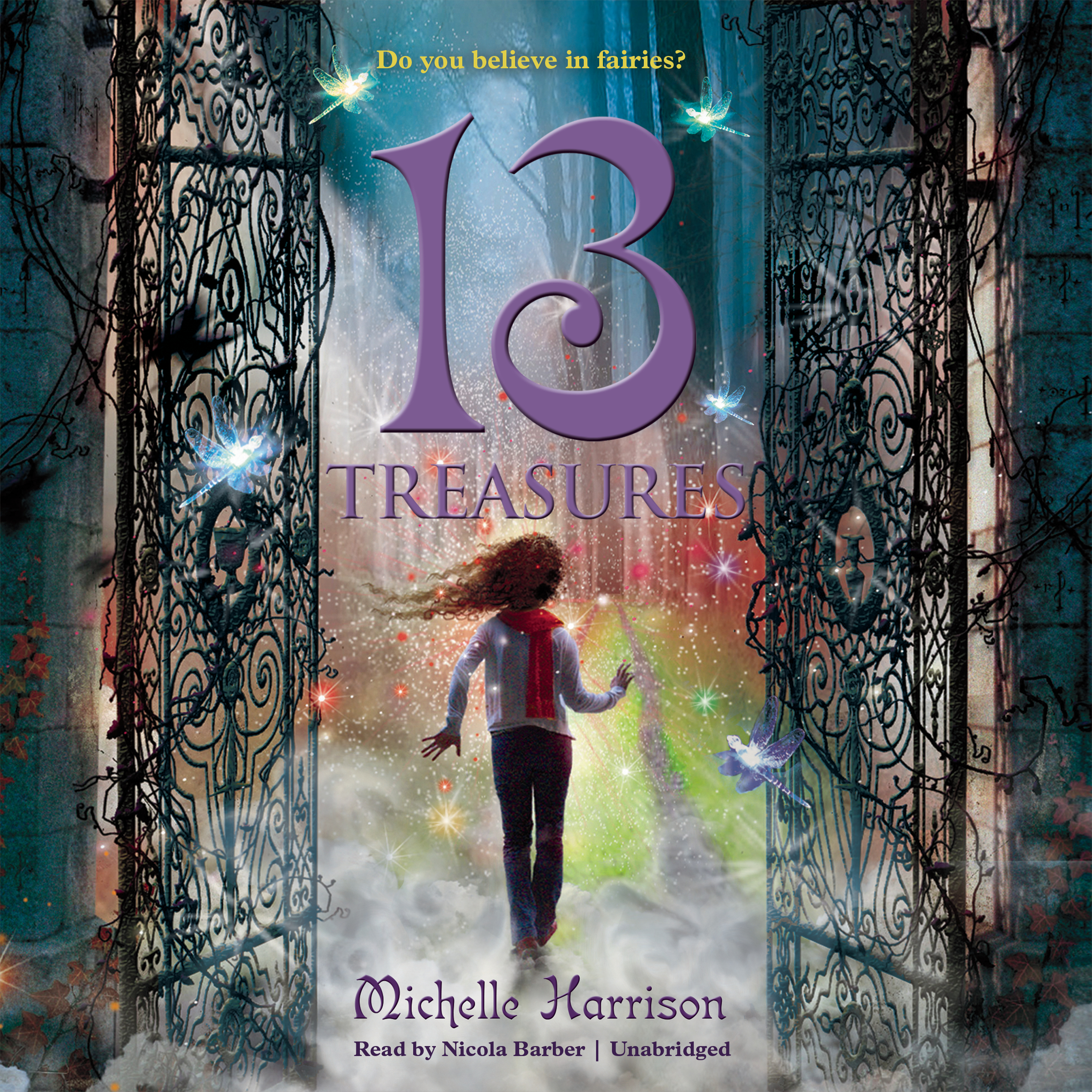 Printable 13 Treasures Audiobook Cover Art