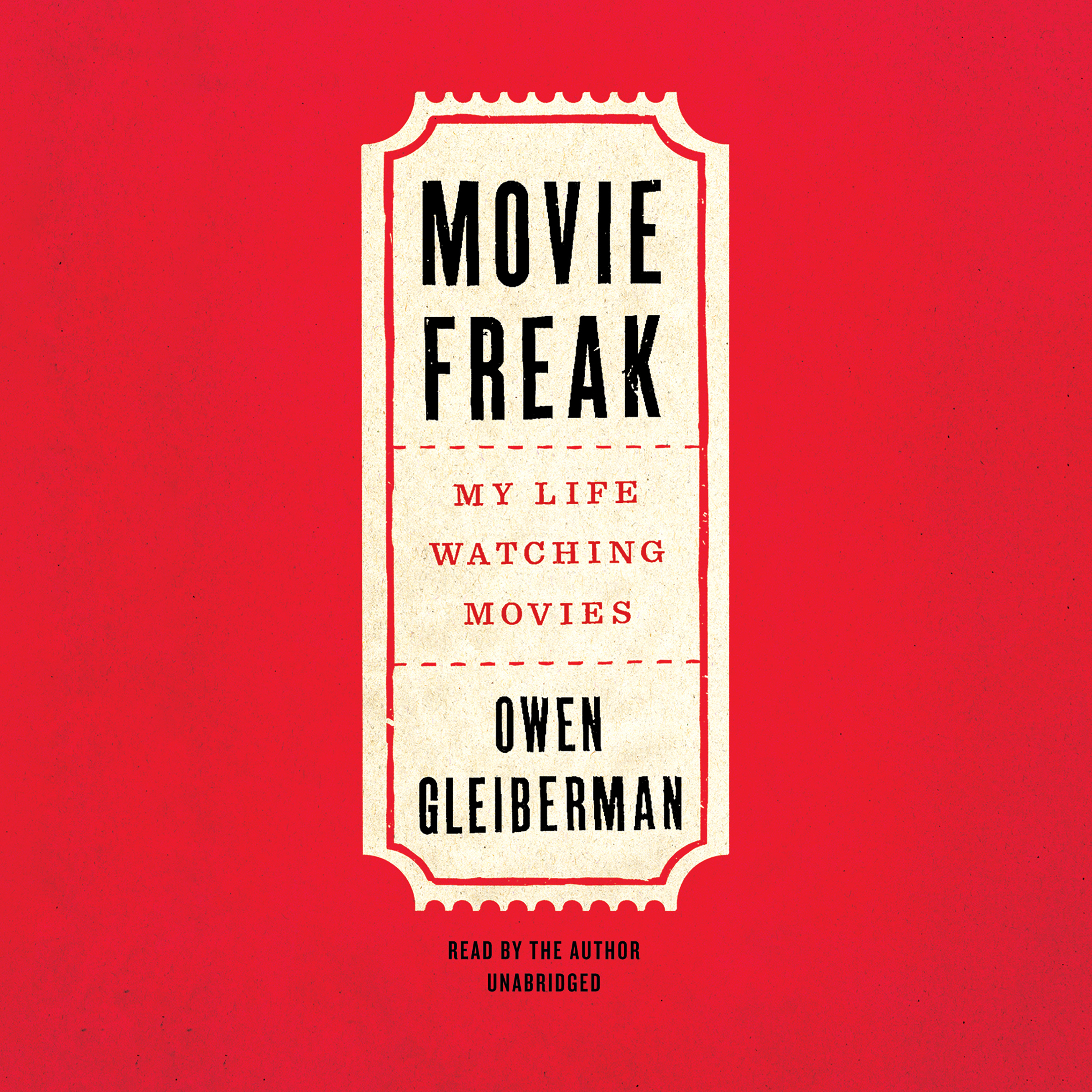 Printable Movie Freak: My Life Watching Movies Audiobook Cover Art