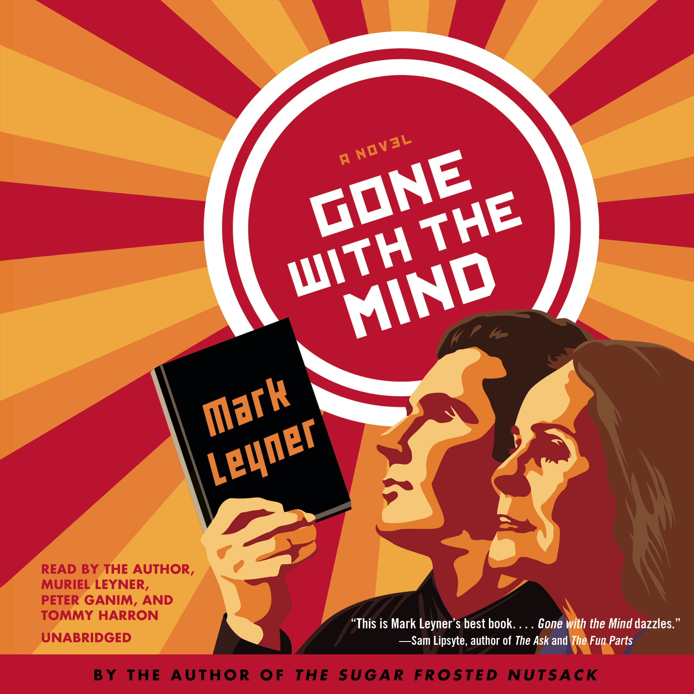 Printable Gone with the Mind: A Novel Audiobook Cover Art