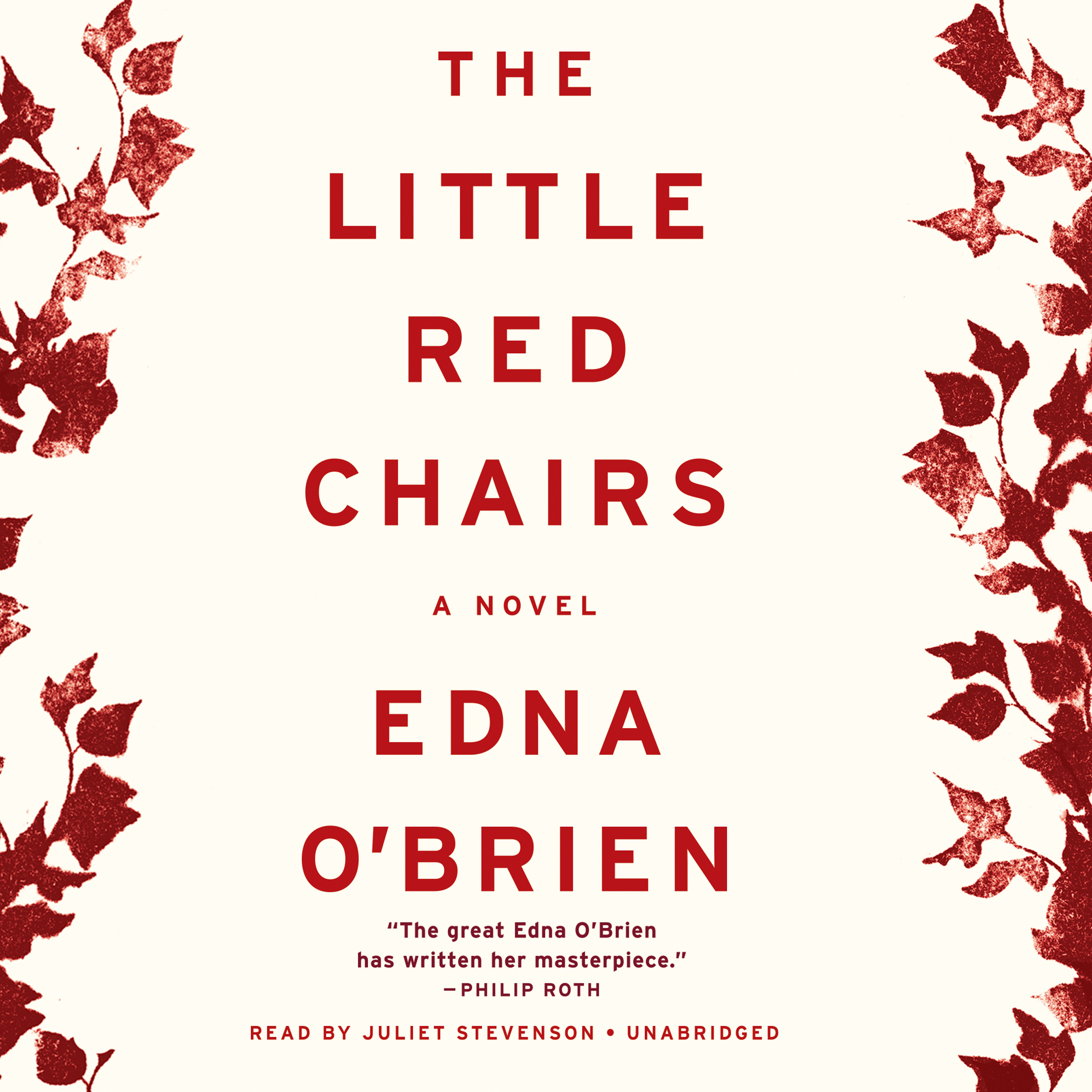 Printable The Little Red Chairs: A Novel Audiobook Cover Art