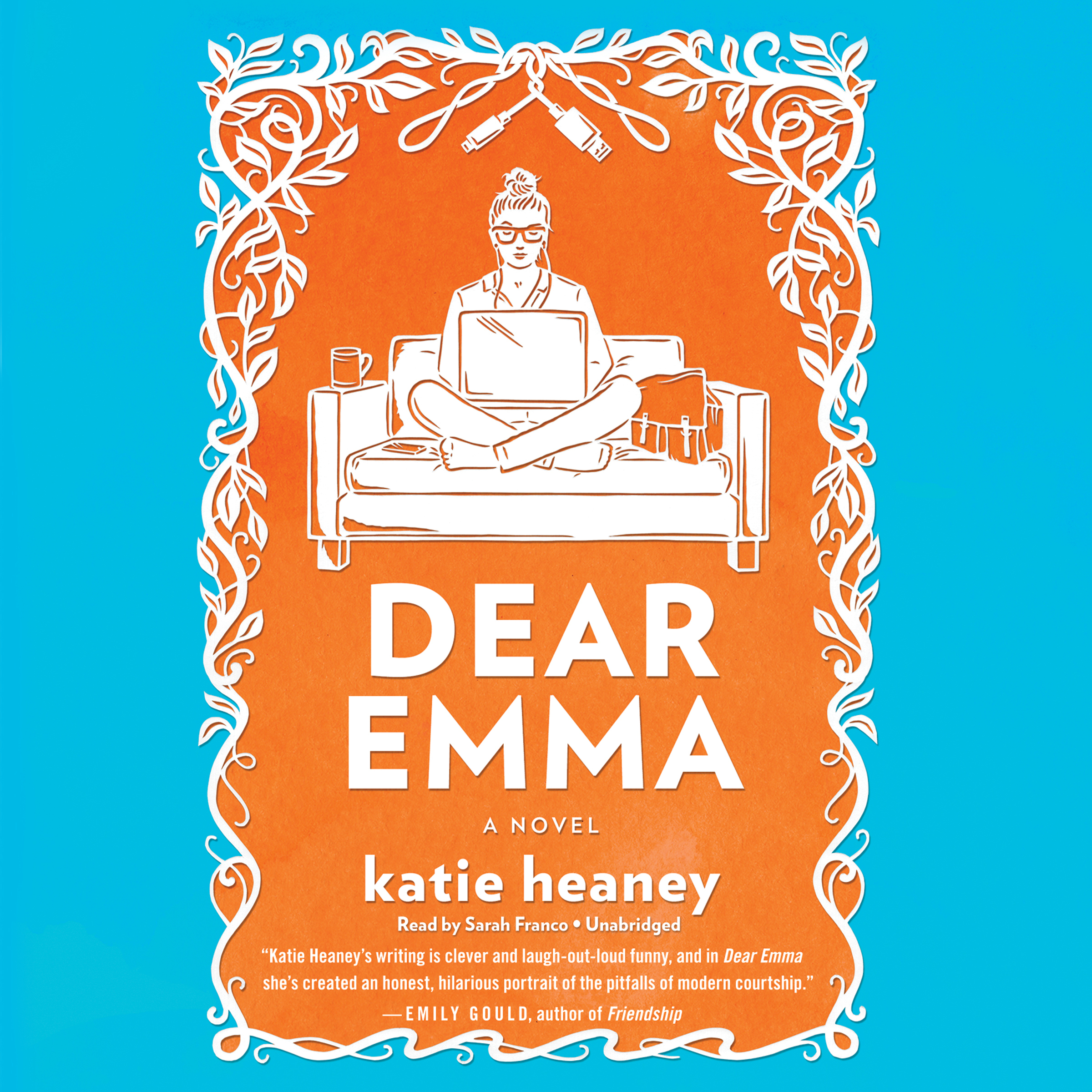 Printable Dear Emma: A Novel Audiobook Cover Art