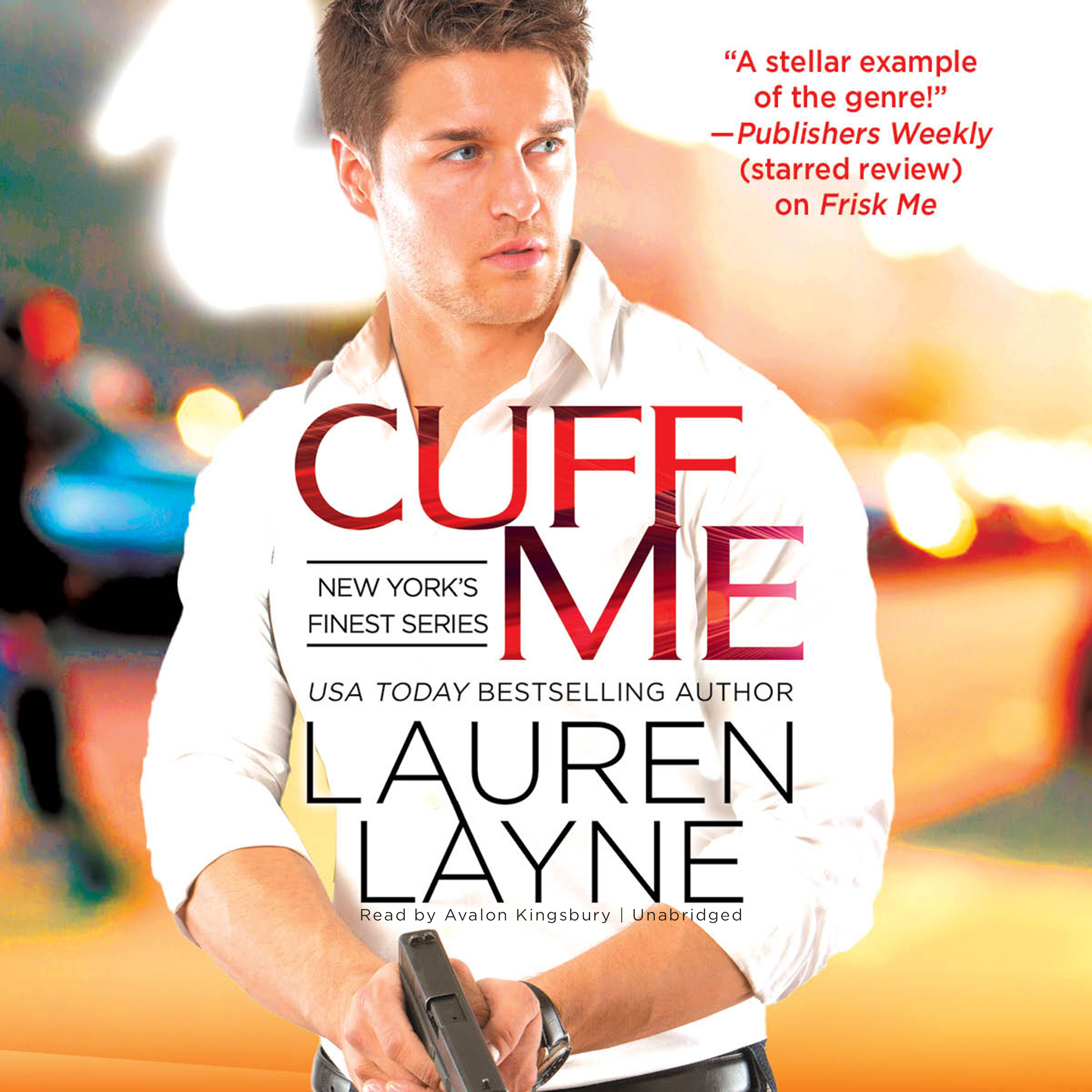 Printable Cuff Me Audiobook Cover Art