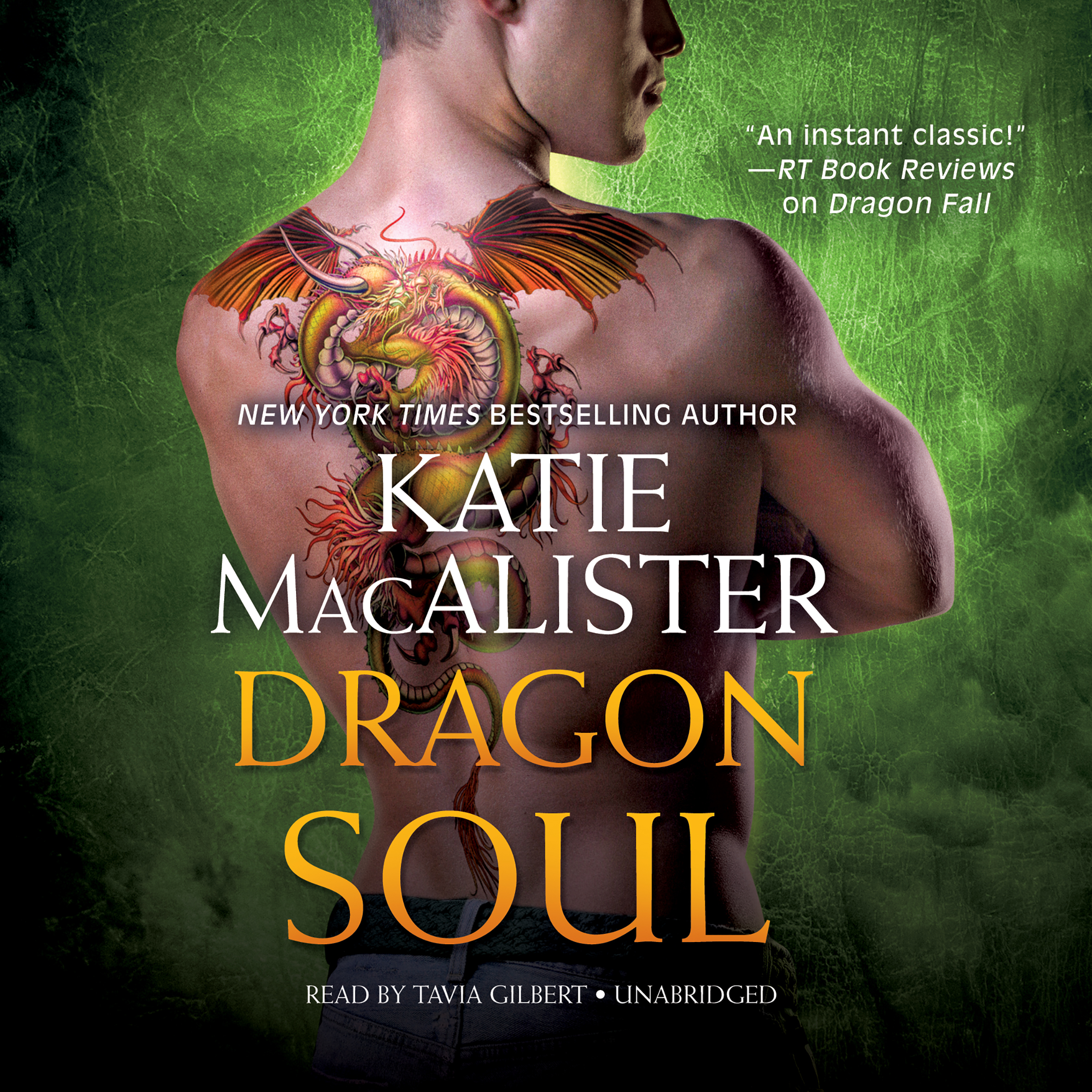 Printable Dragon Soul Audiobook Cover Art